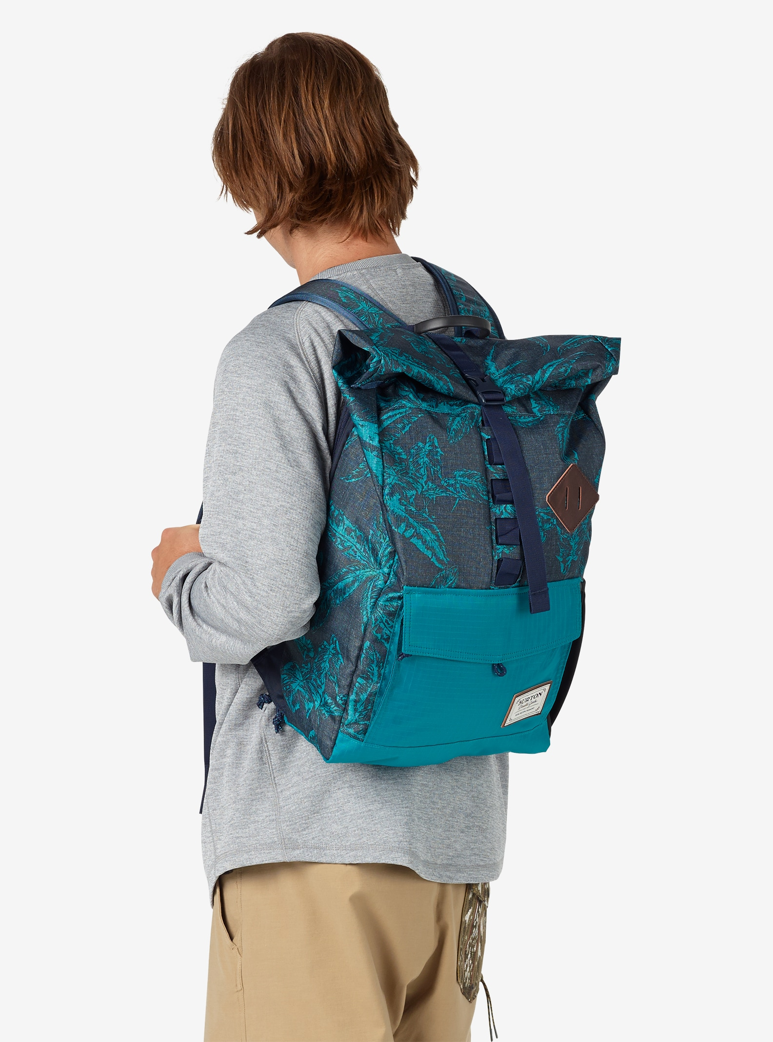 Burton Export Backpack shown in Tropical Print
