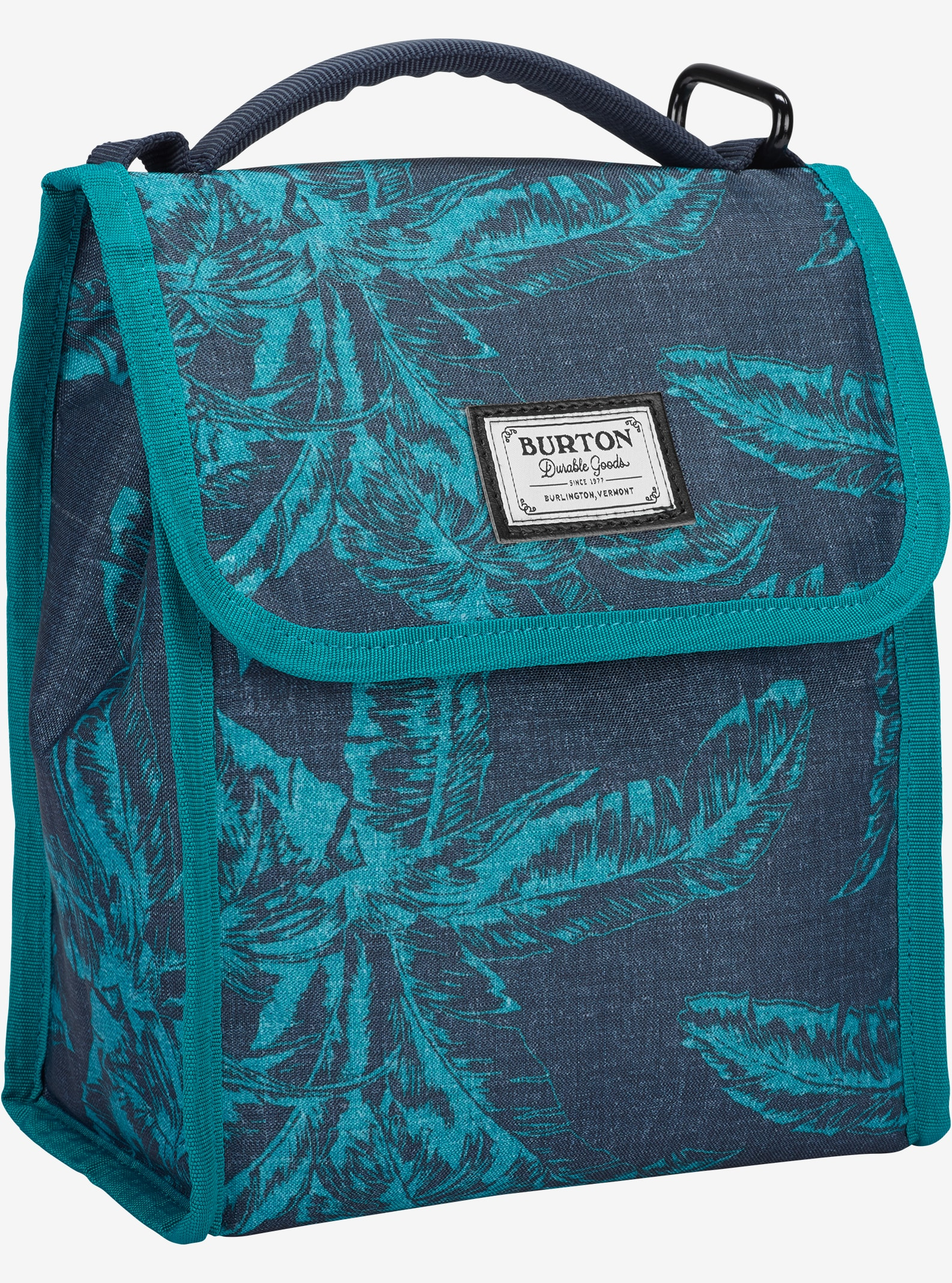Burton Lunch Sack shown in Tropical Print