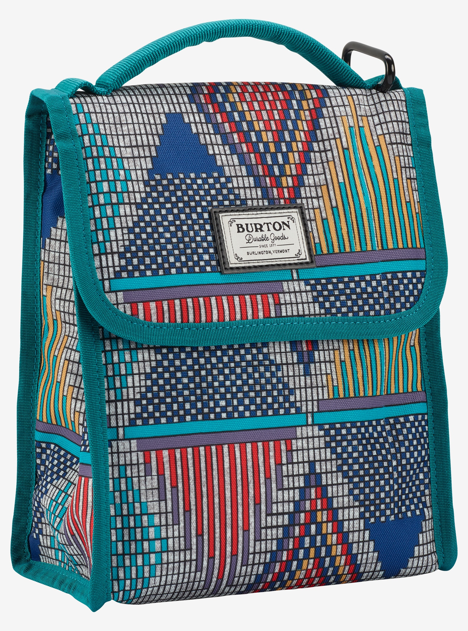 Burton Lunch Sack shown in De Geo Print