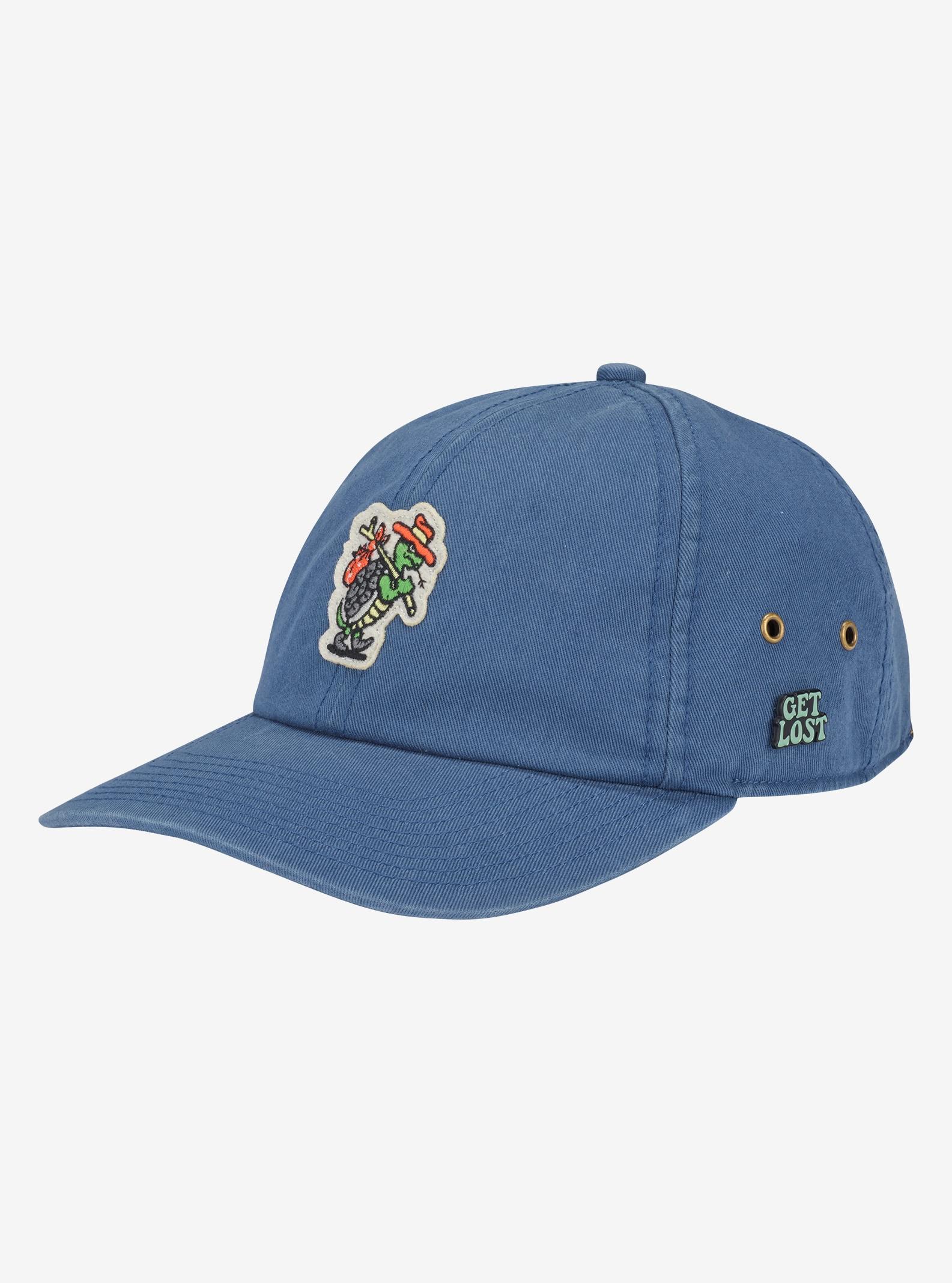 Burton Union Snapback Hat shown in Indigo