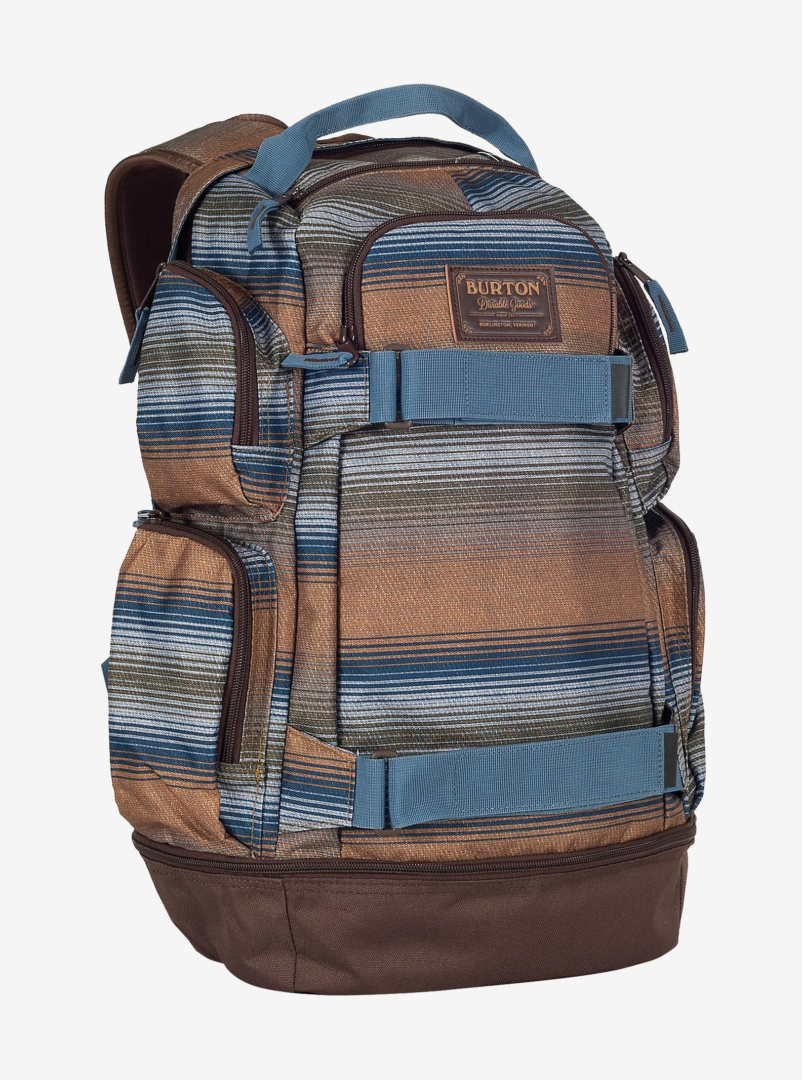 Burton Distortion Rucksack angezeigt in Beach Stripe Print