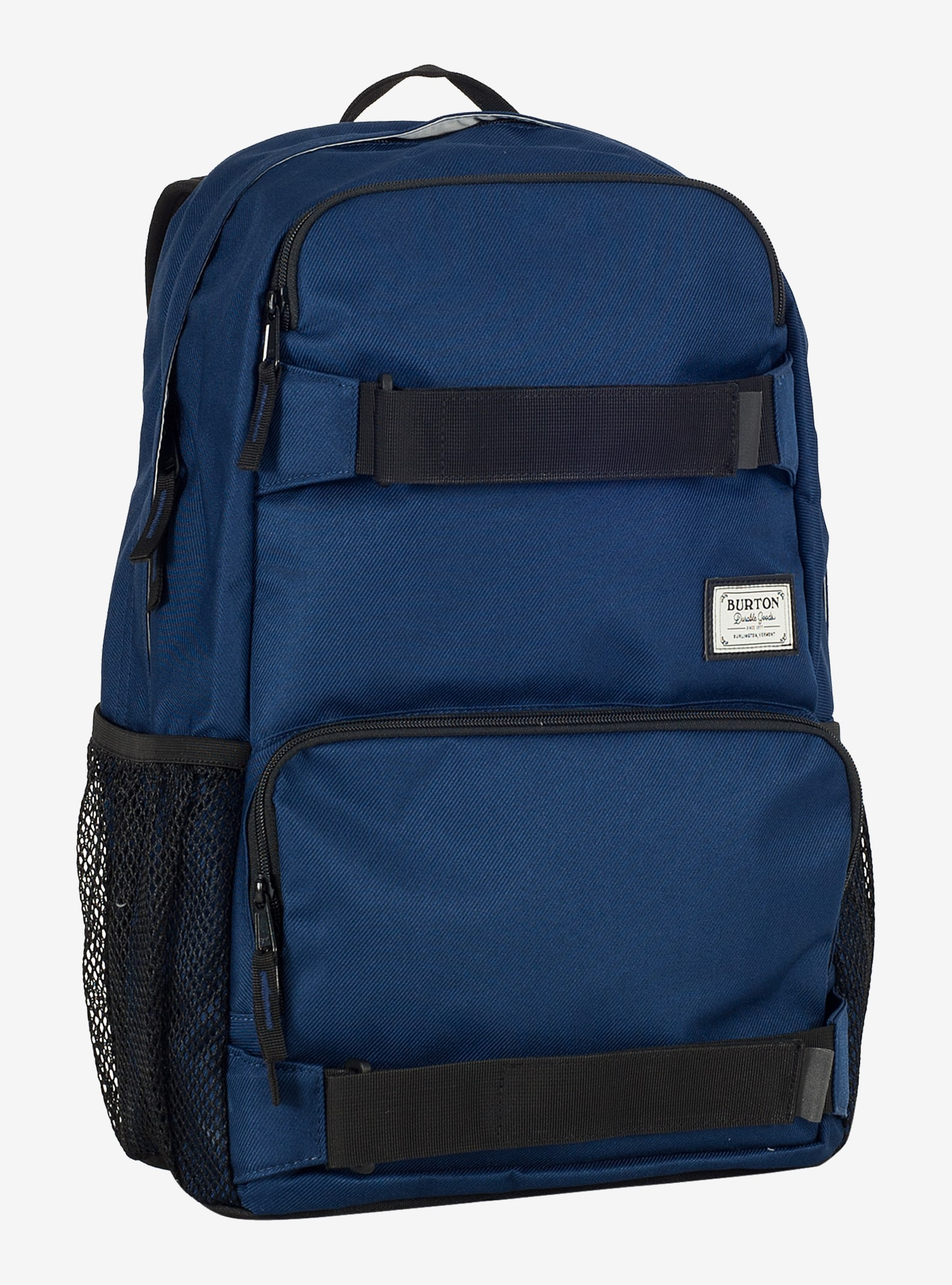 Burton Treble Yell Backpack shown in Medieval Blue Twill