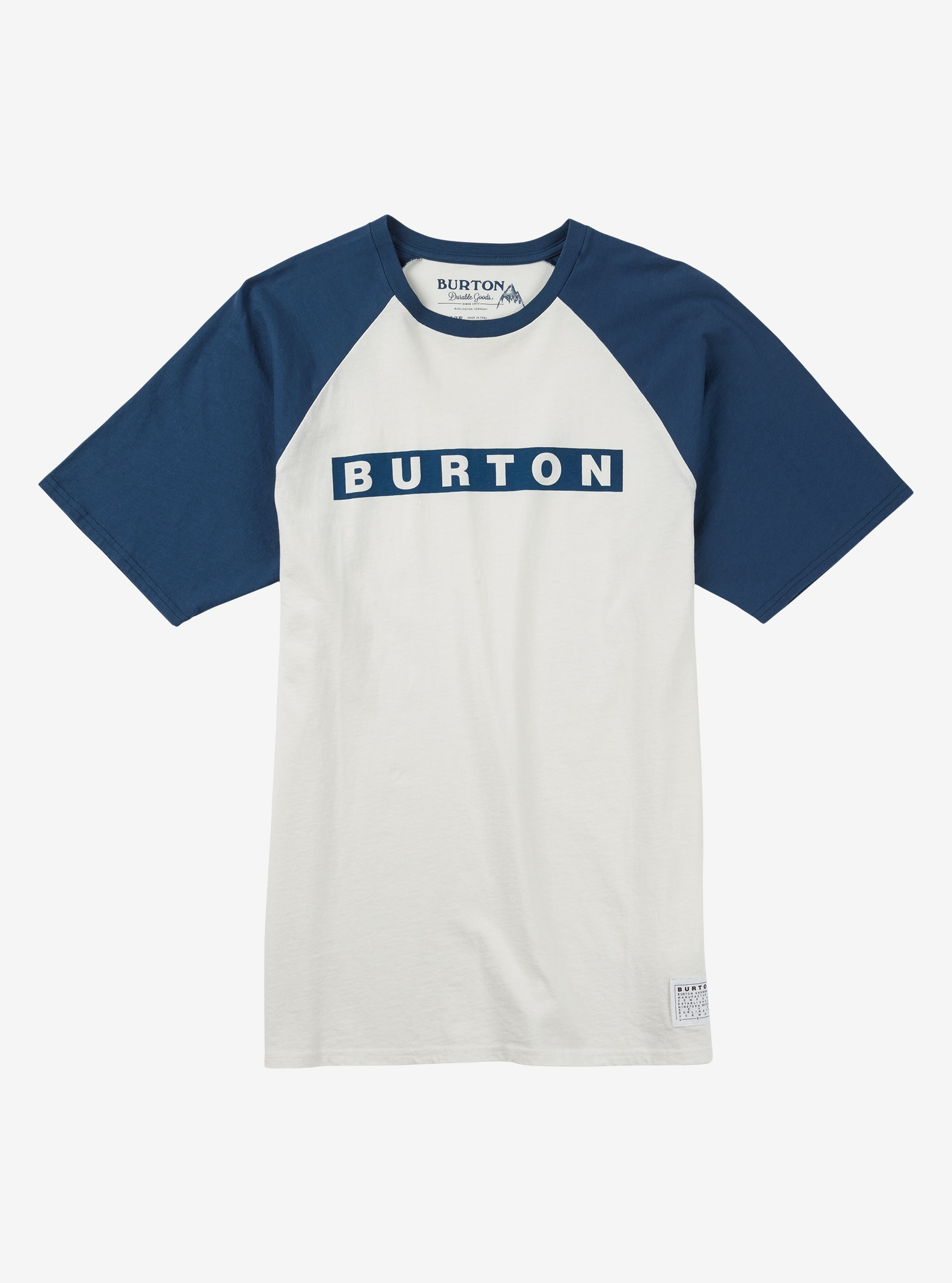 Burton Vault Short Sleeve T Shirt shown in Stout White