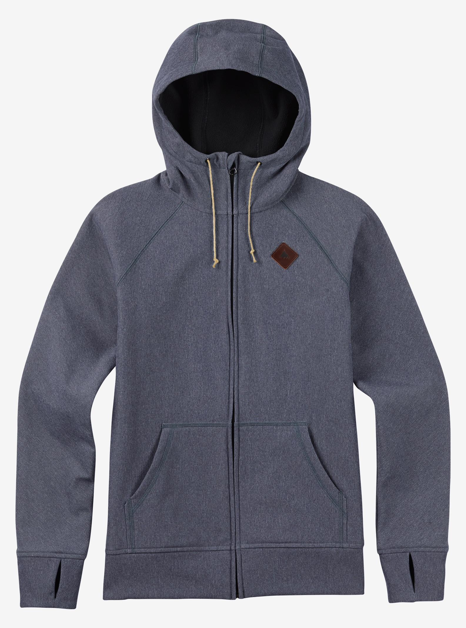 Burton Scoop Hoodie shown in Denim Heather