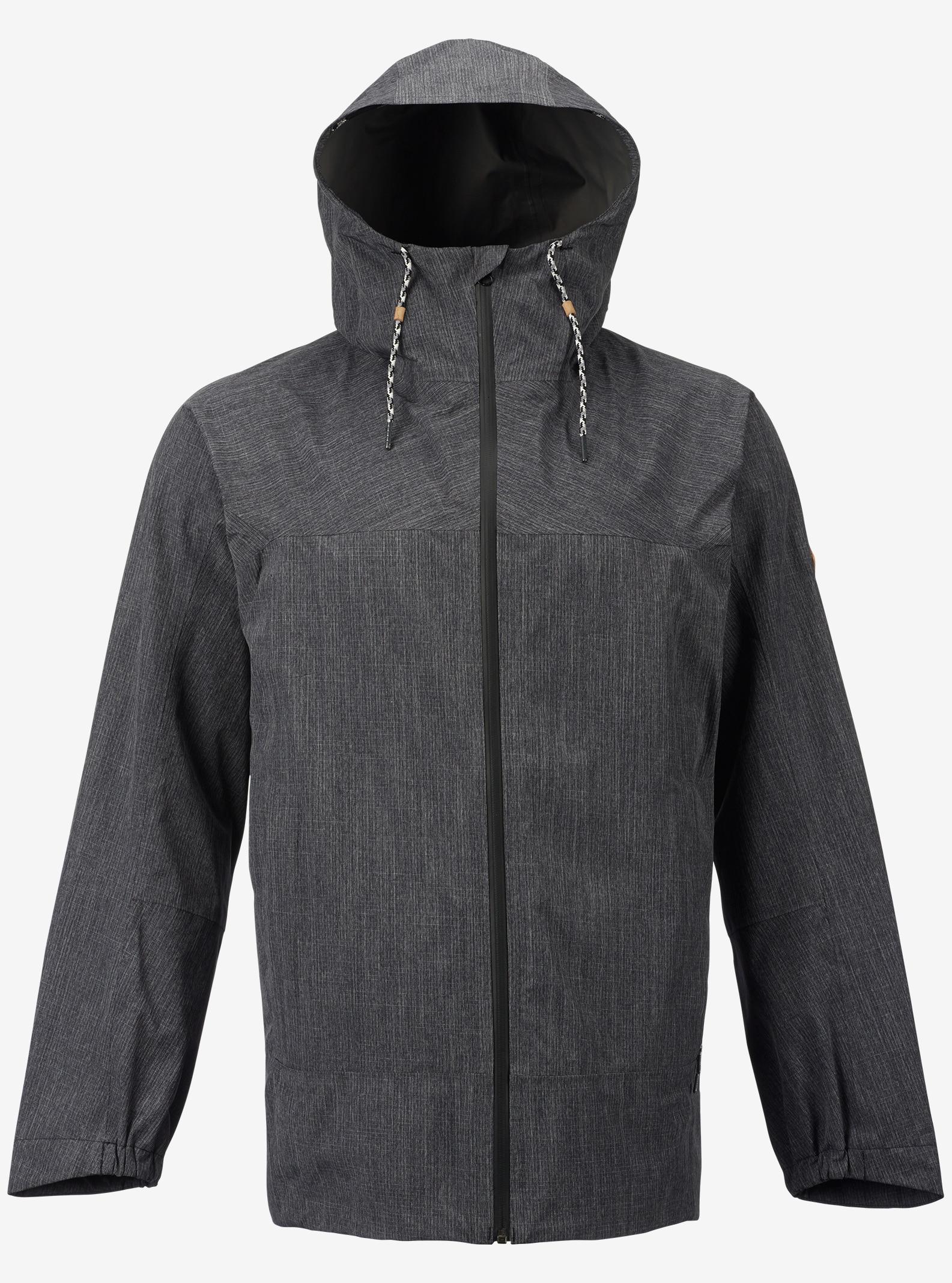 Burton GORE-TEX® 2L Packrite Rain Jacket shown in True Black Heather
