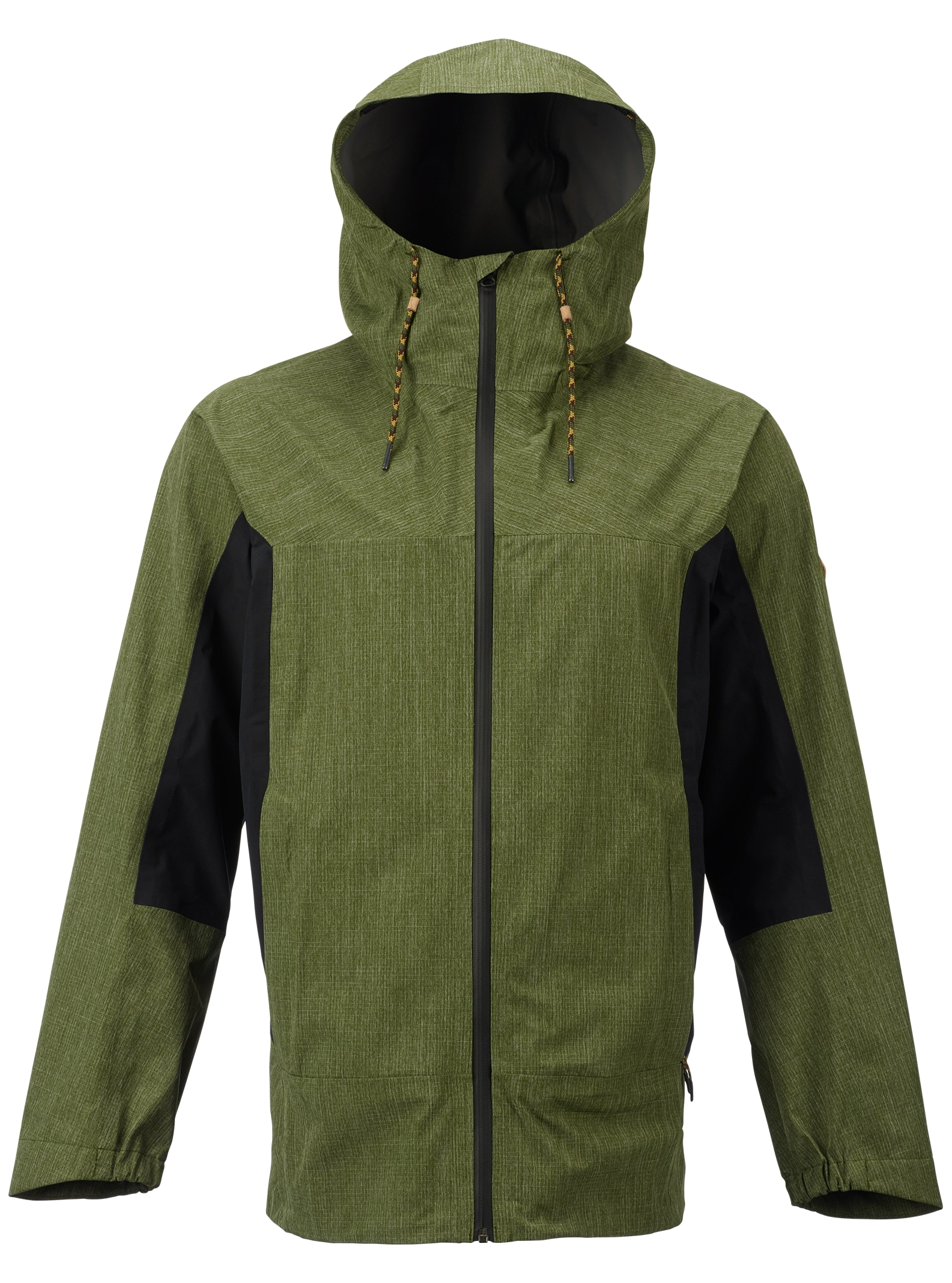 Burton GORE-TEX® 2L Packrite Regenjacke angezeigt in Rifle Green / True Black
