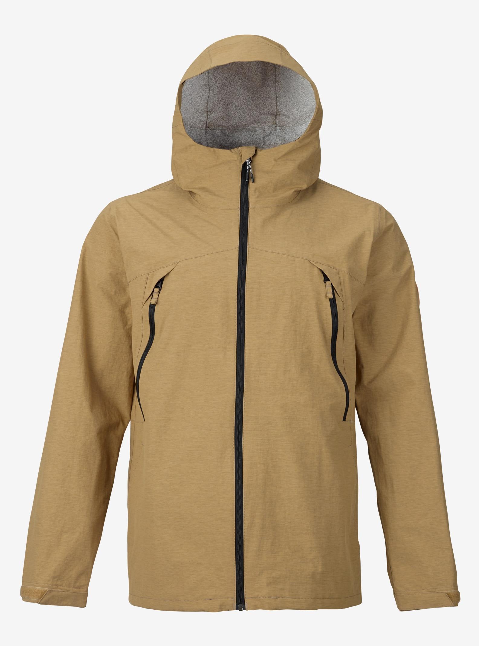 Burton Intervale Rain Jacket shown in Kelp