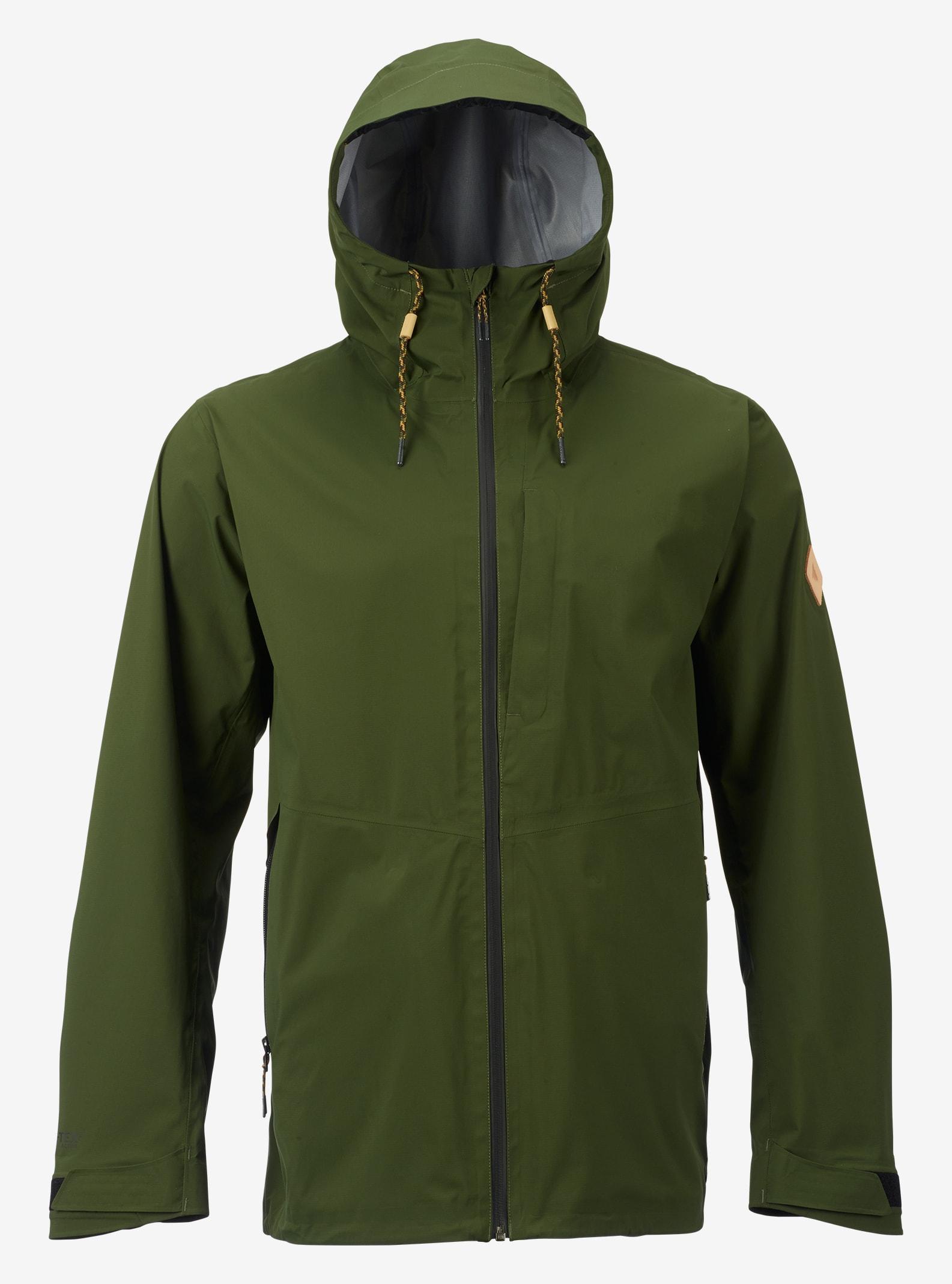 Burton GORE-TEX® 3L Sterling Rain Jacket shown in Rifle Green