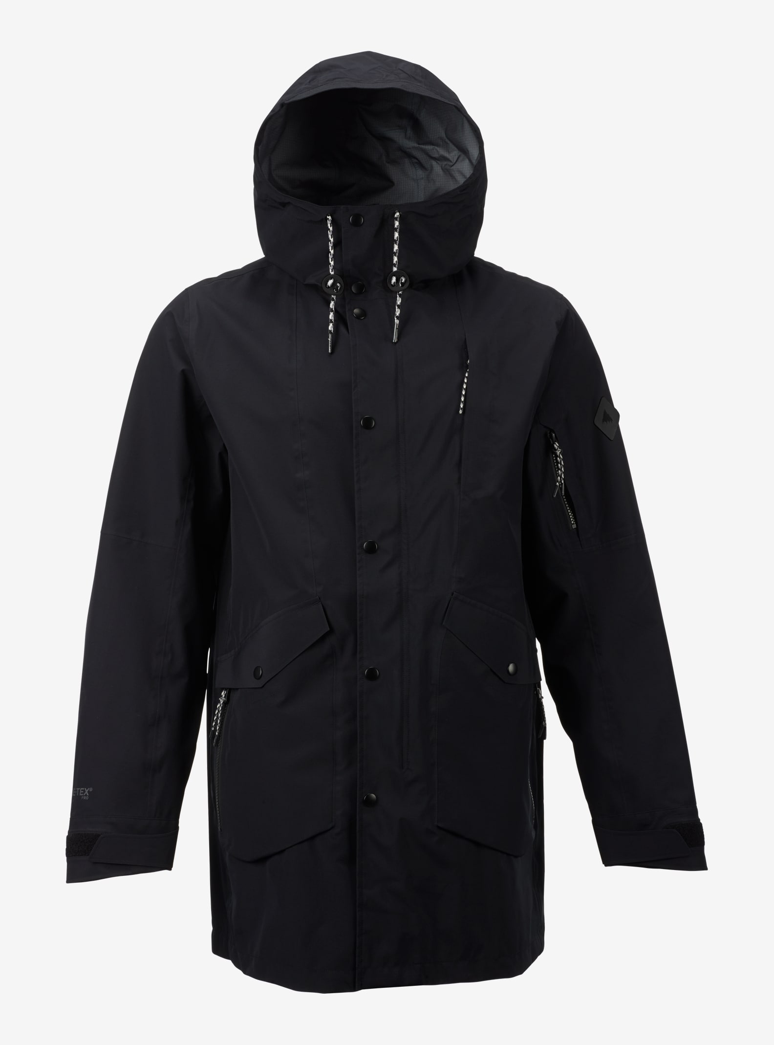Burton GORE-TEX® 3L B-17 3L Rain Jacket shown in True Black