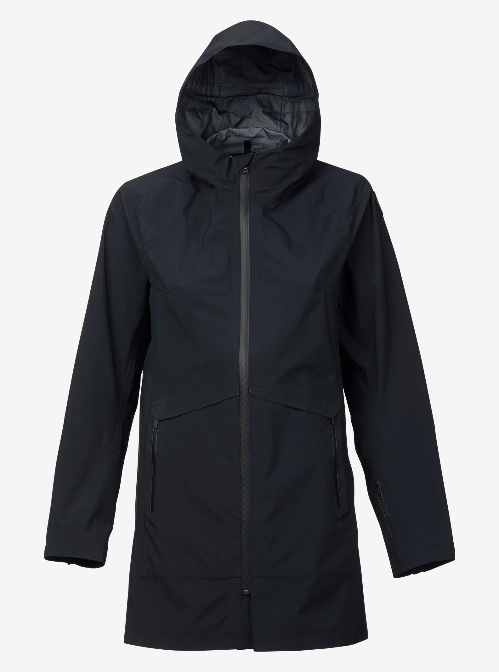 Burton GORE-TEX® 3L Cady Rain Parka shown in True Black