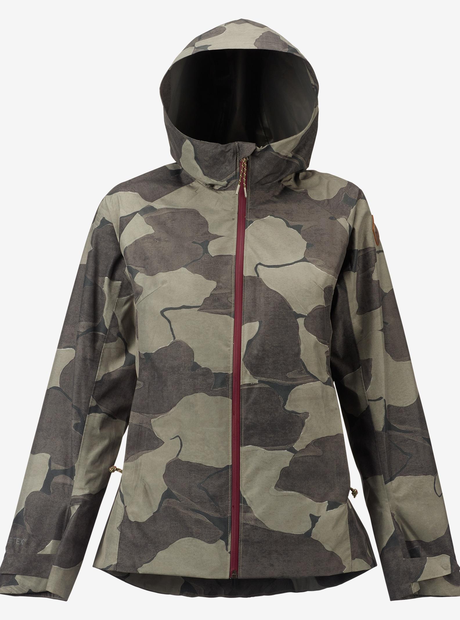 Burton GORE-TEX® 2L Day-Lite Rain Jacket shown in Keef Pond Camo