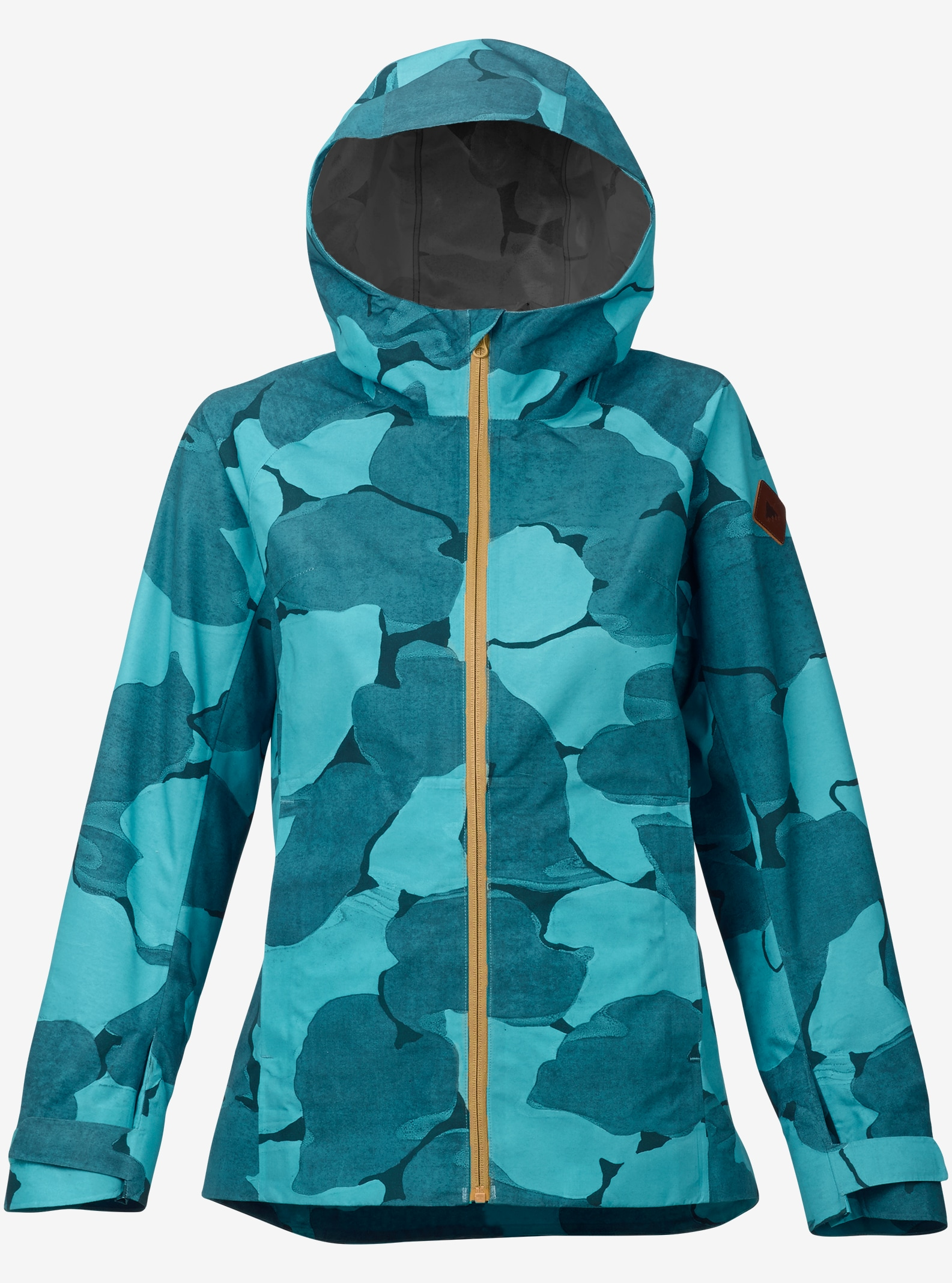 Burton GORE-TEX® 2L Day-Light Rain Jacket shown in Everglade Pond Camo