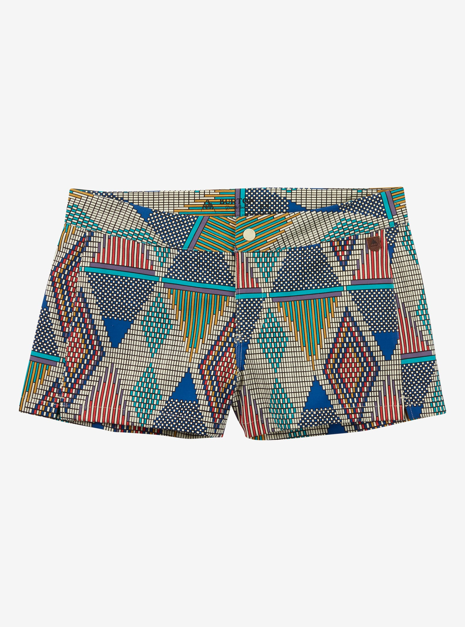 Burton Shearwater Boardshort shown in Everglade De Geo