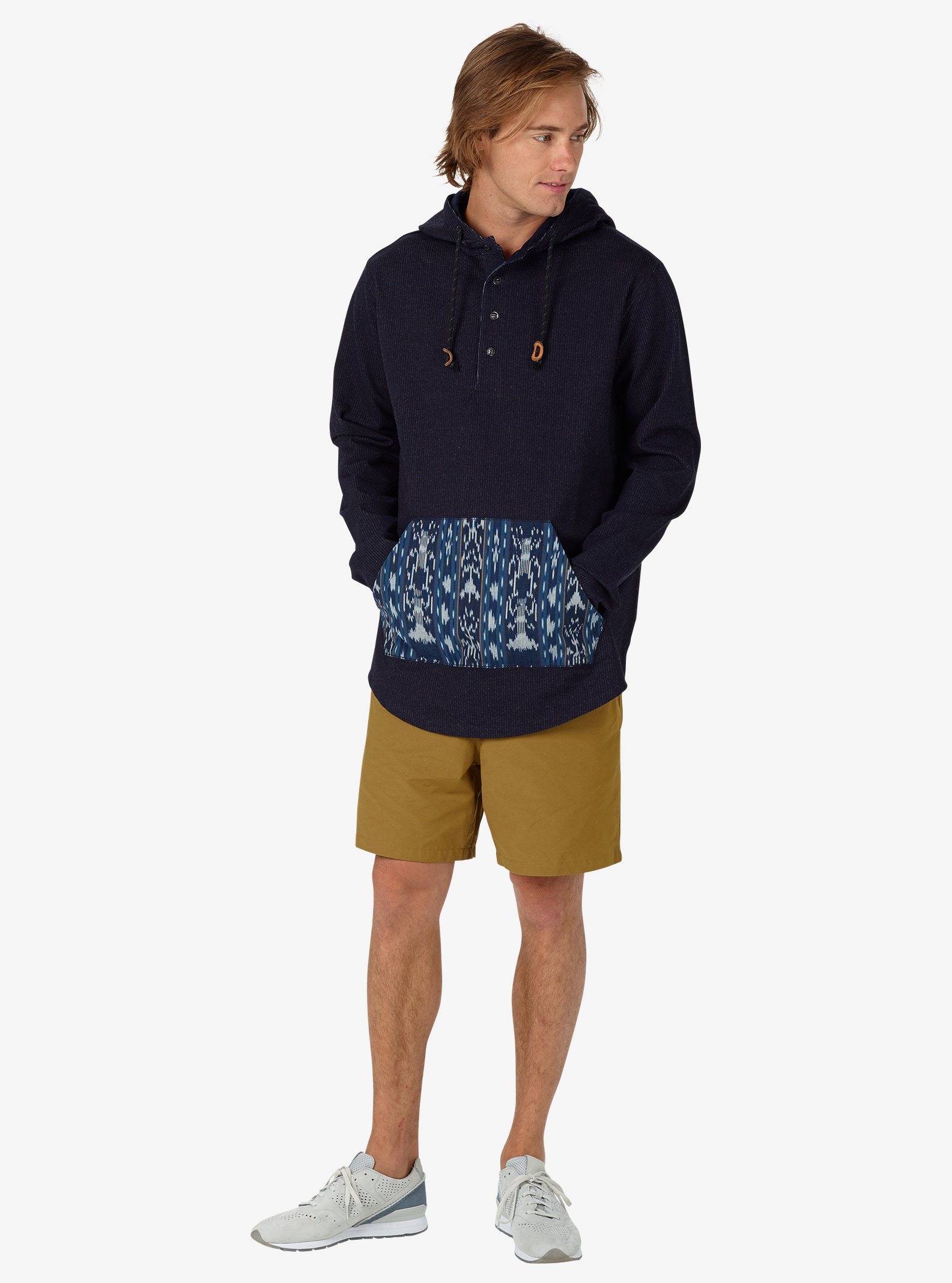 Burton Baja Pullover shown in Indigo