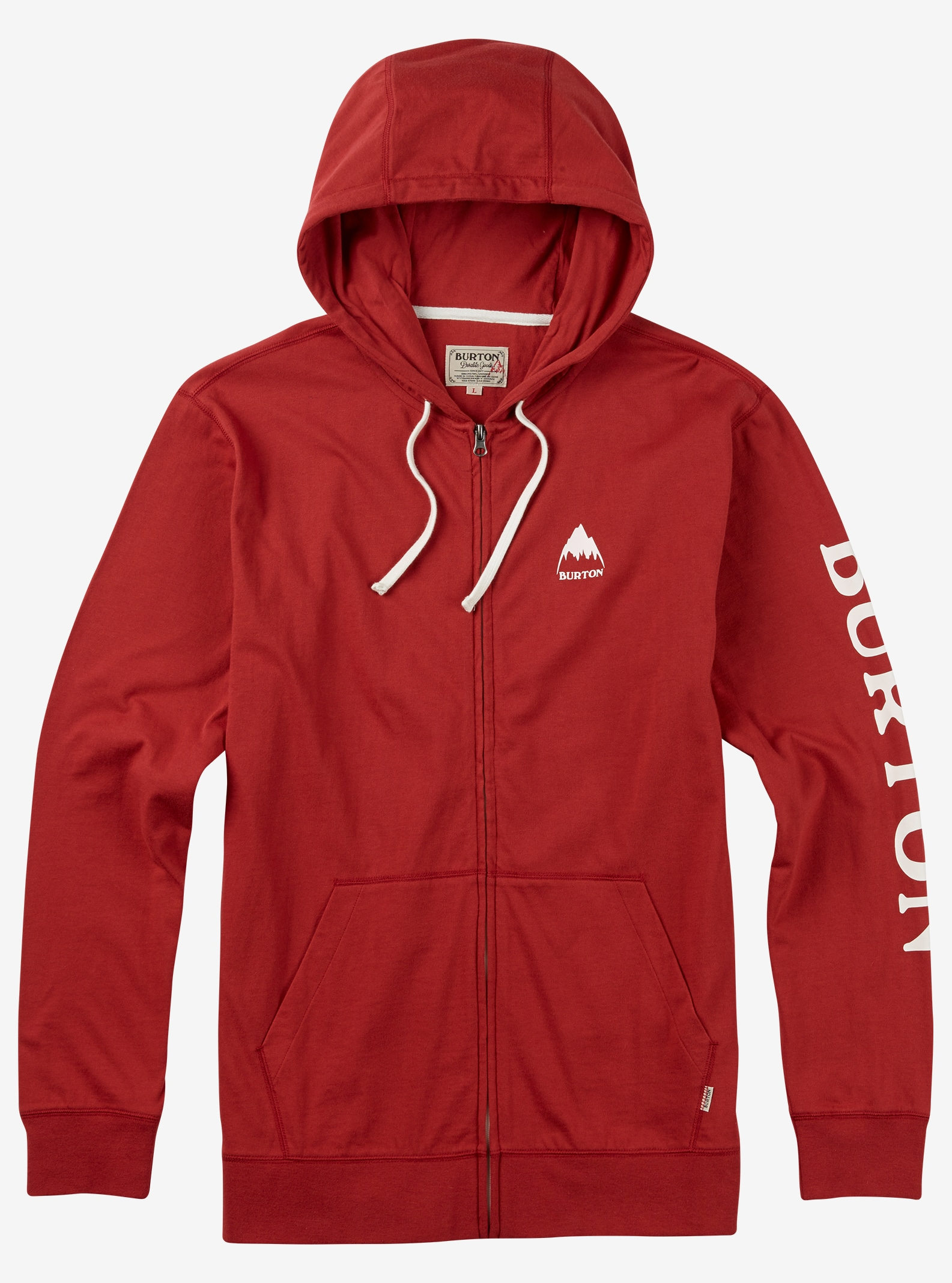 Burton Elite Full-Zip Hoodie shown in Tandori