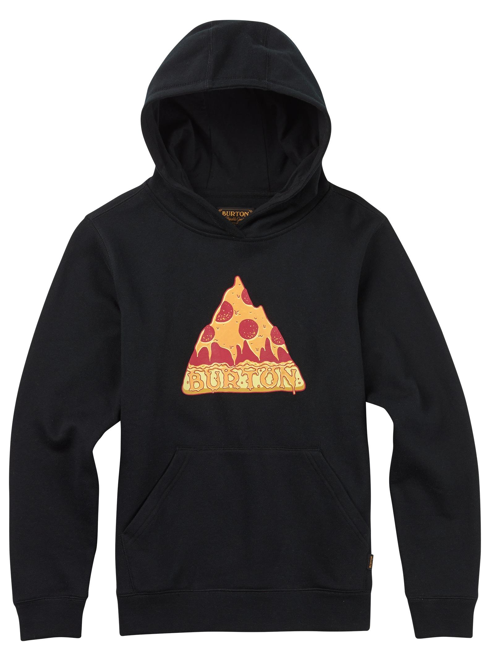 Burton Mountain Pizza Pullover für Jungs angezeigt in True Black