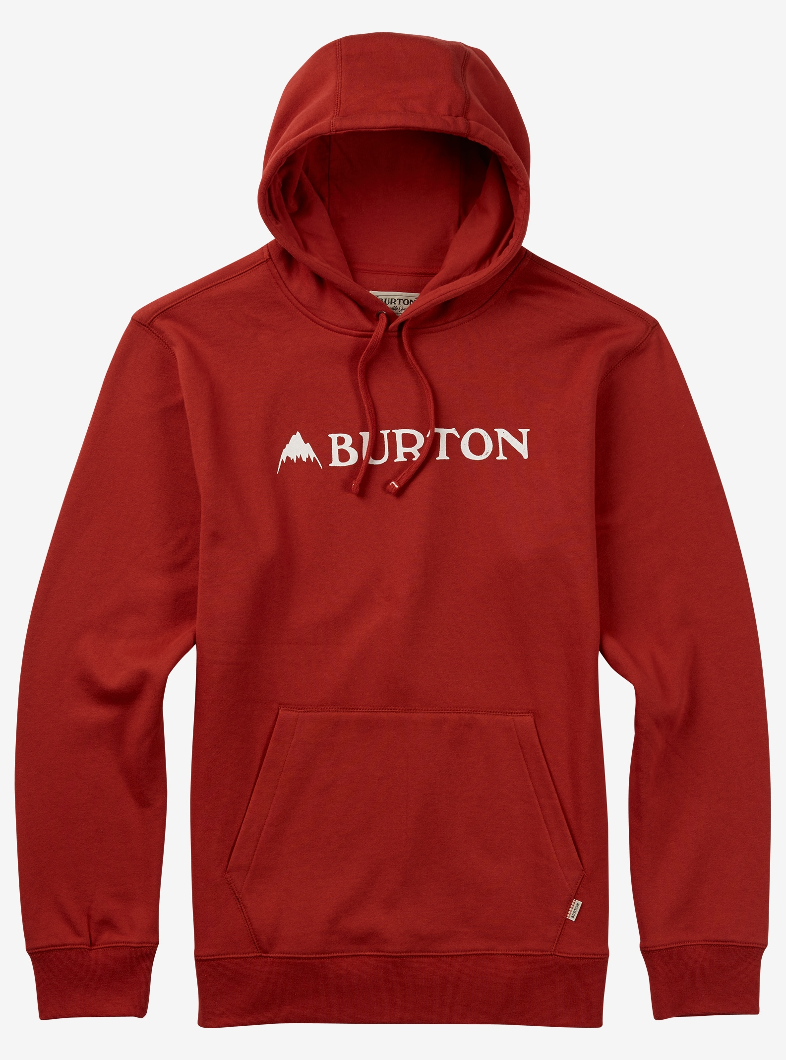 Burton Mountain Horizontal Pullover Hoodie shown in Tandori