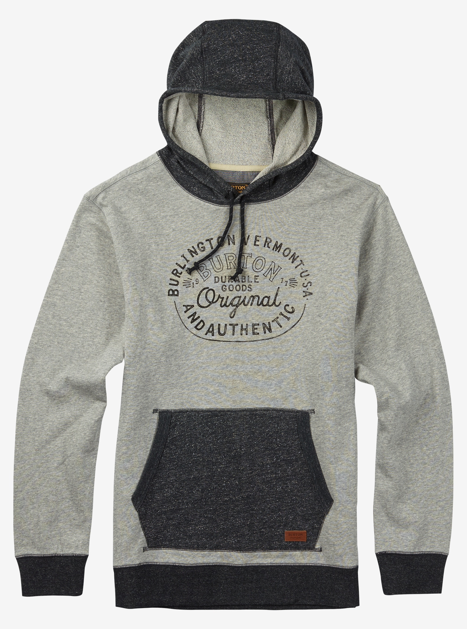 Burton Manual Pullover shown in Gray Heather