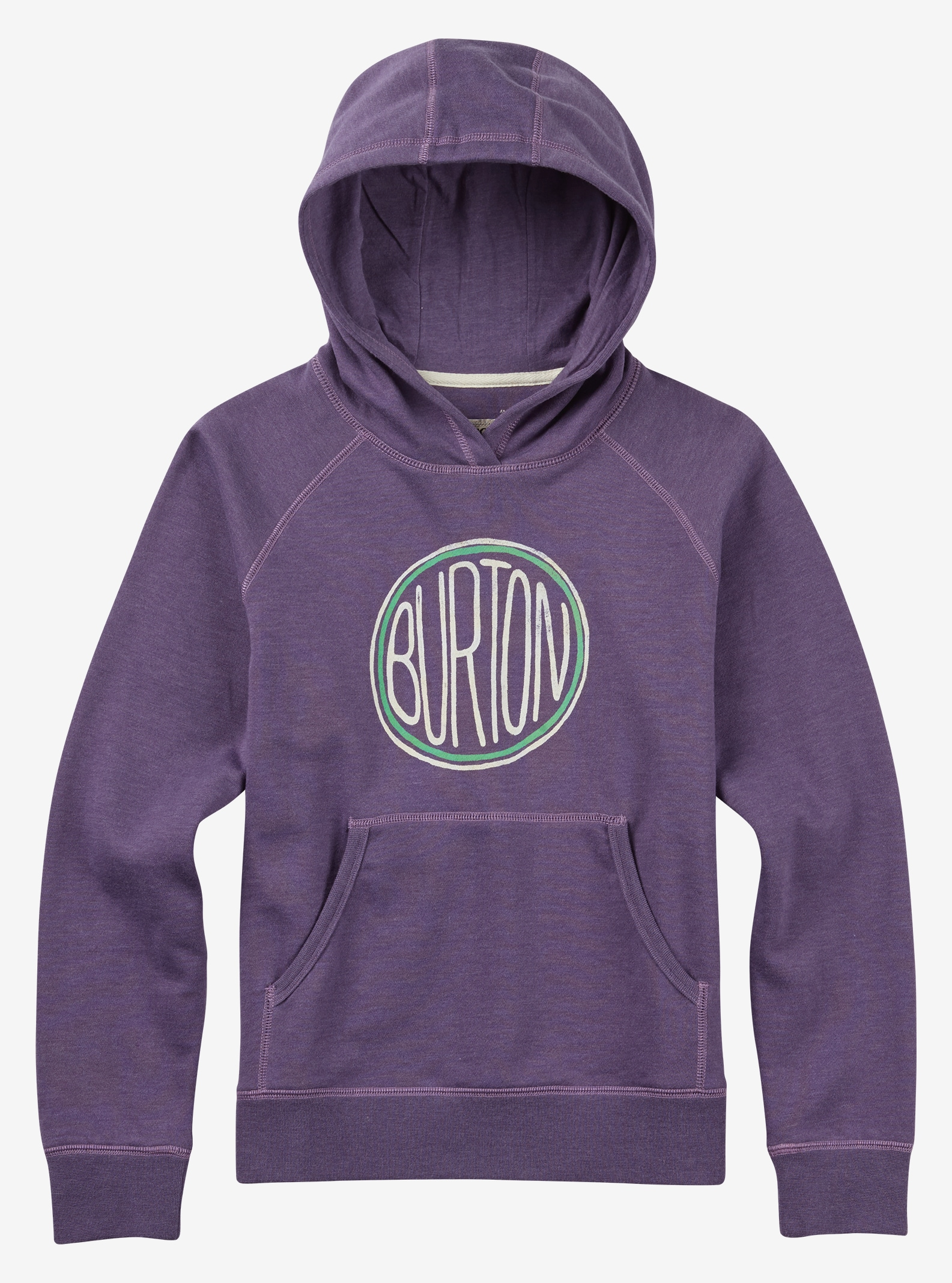 Burton Girls' Prudence Pullover shown in Mulled Grape Heather