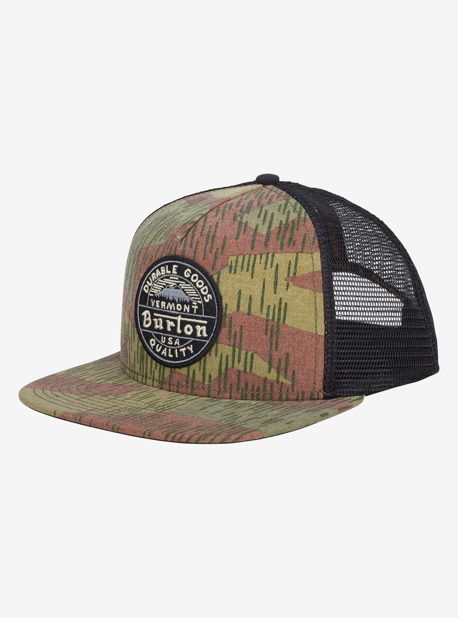 Burton Marble Head Cap angezeigt in Splinter Camo