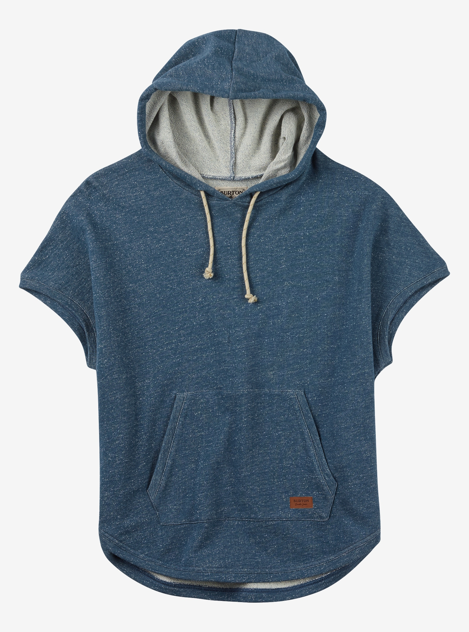 Burton Nora Poncho Fleece shown in Indigo Heather