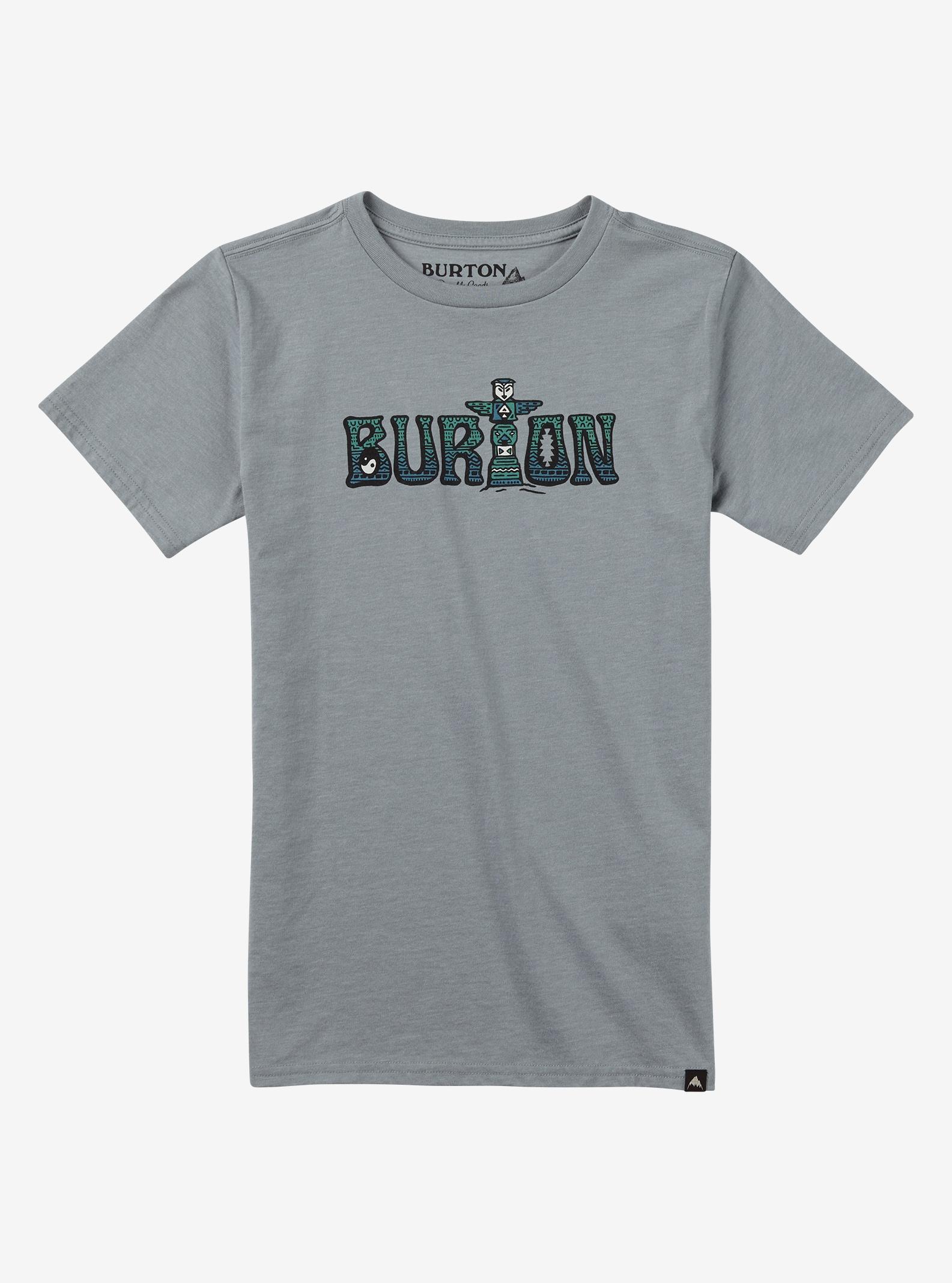 Burton Boys' Wild Child Short Sleeve T Shirt shown in Gray Heather
