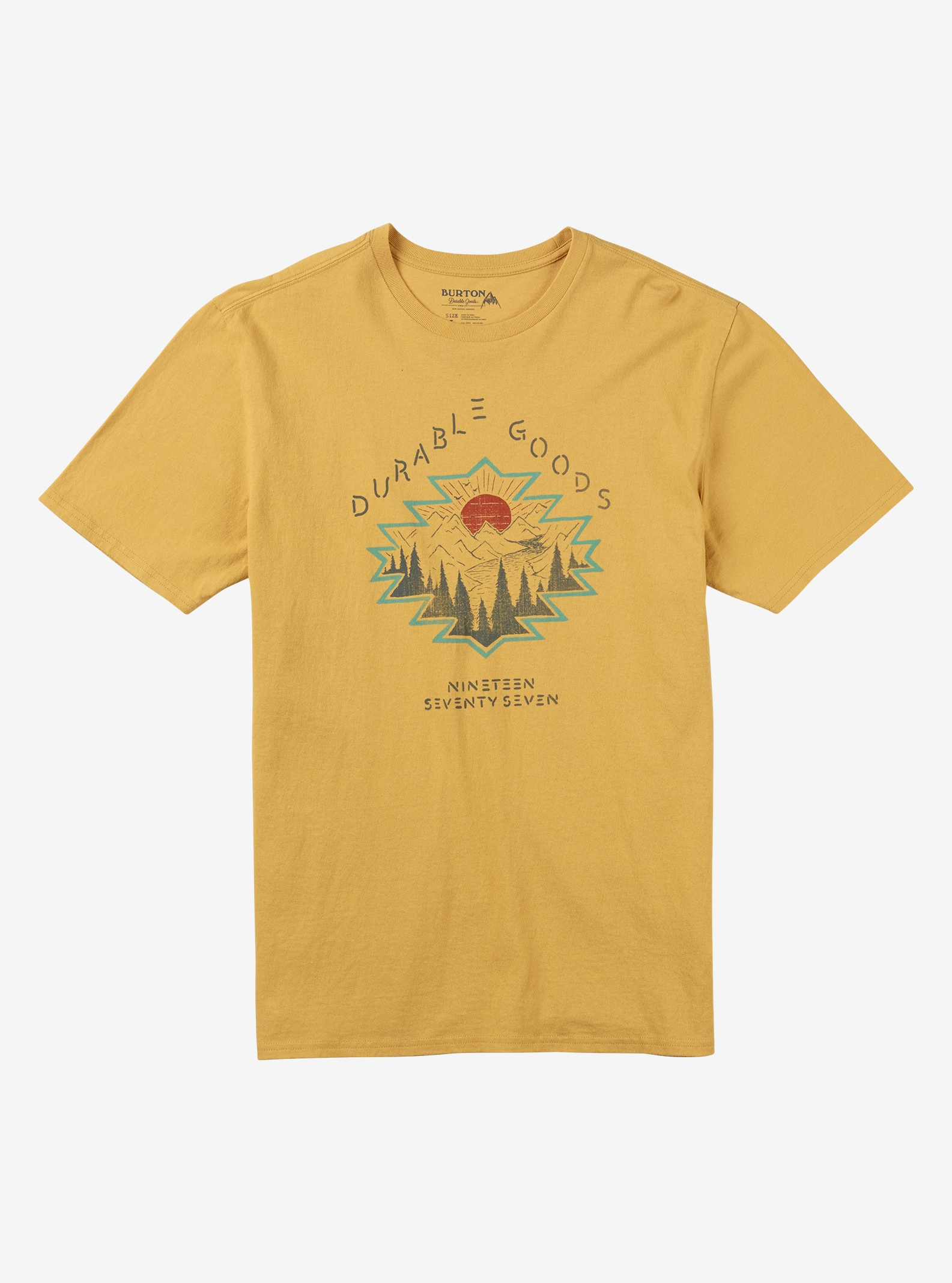 Burton Eldorado Short Sleeve T Shirt shown in Sunrise