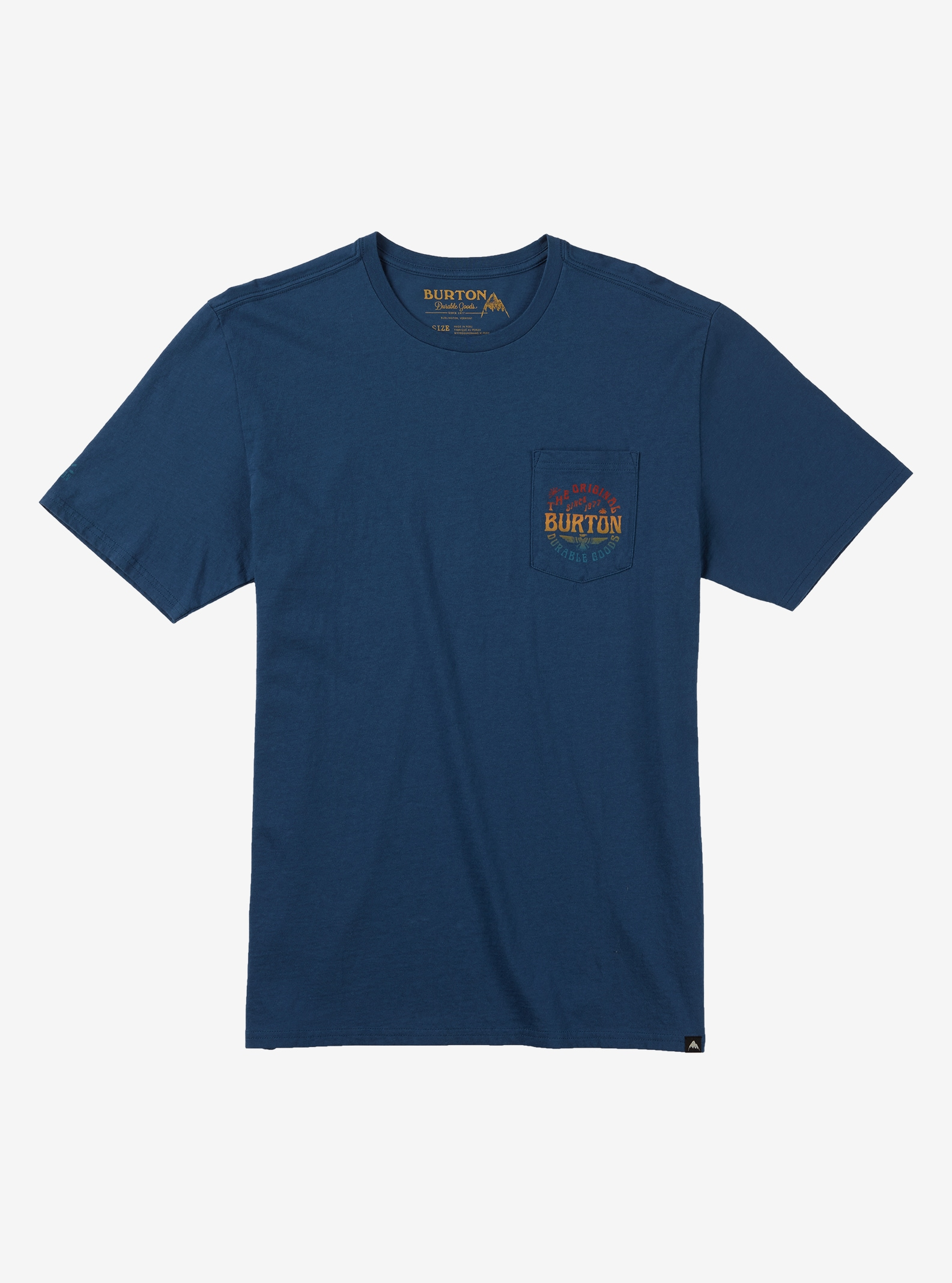 Burton Filmore Short Sleeve T Shirt shown in Indigo
