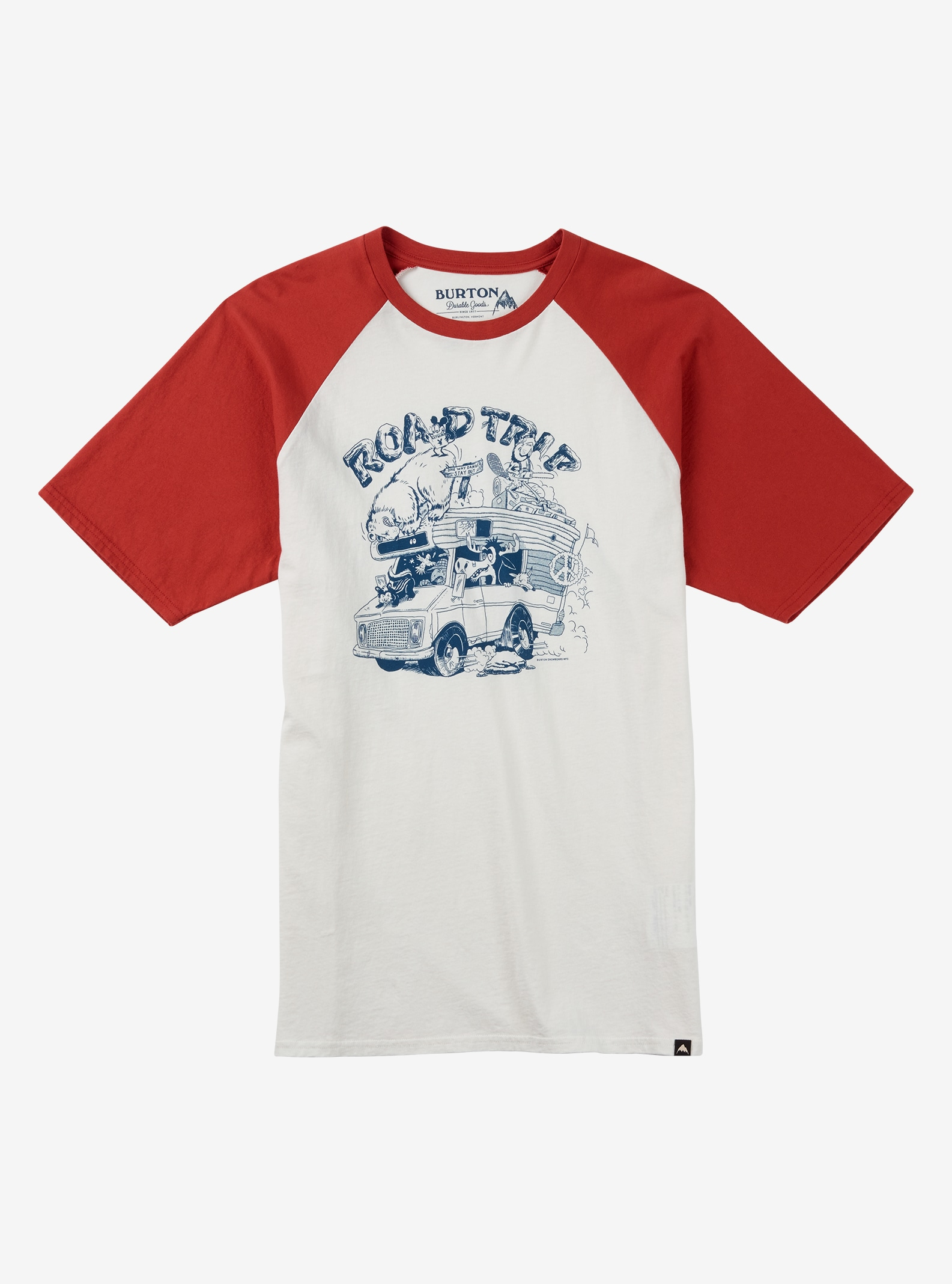 Burton Good Times Short Sleeve T Shirt shown in Stout White
