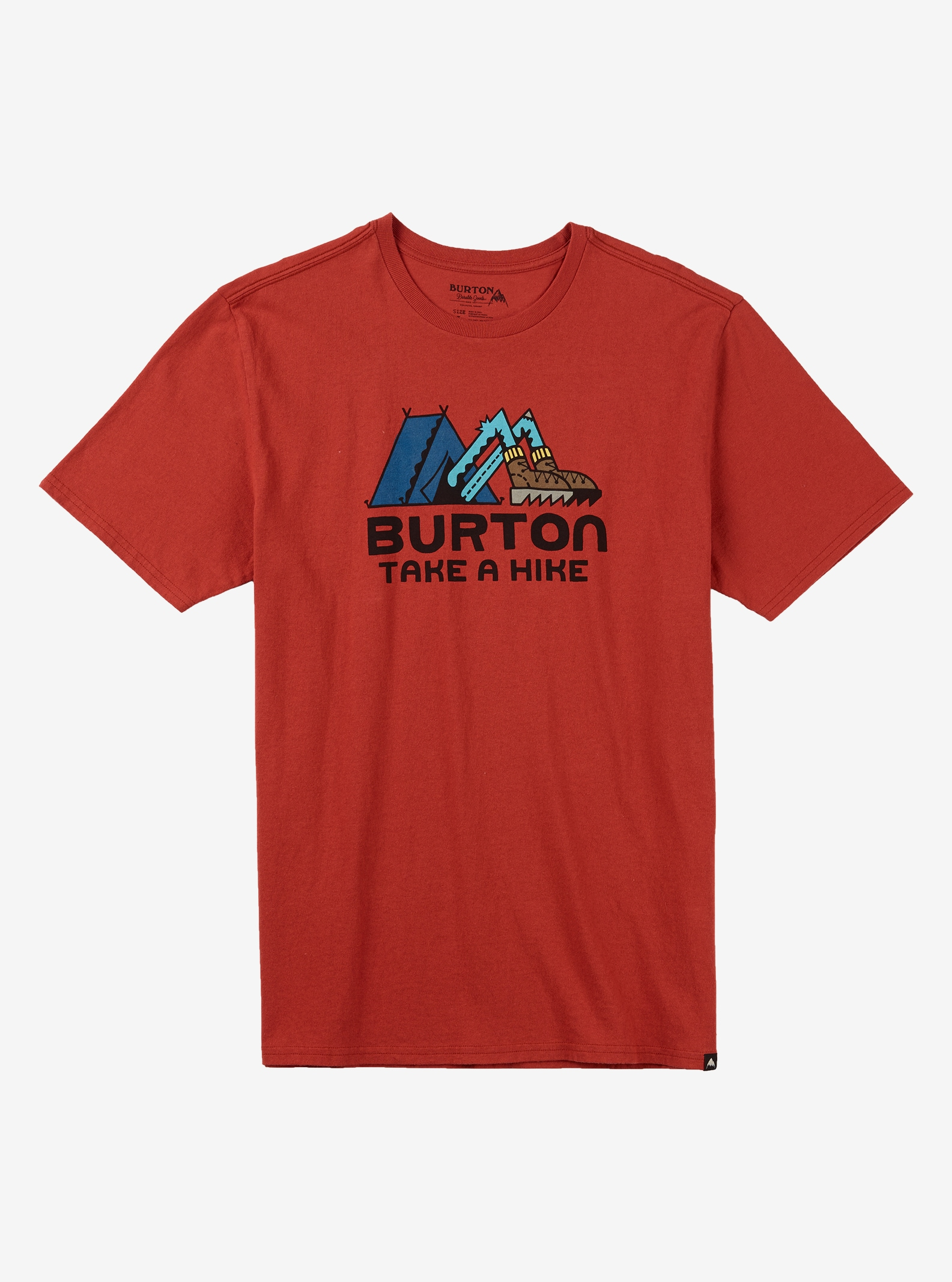 Burton Take A Hike Short Sleeve T Shirt shown in Tandori