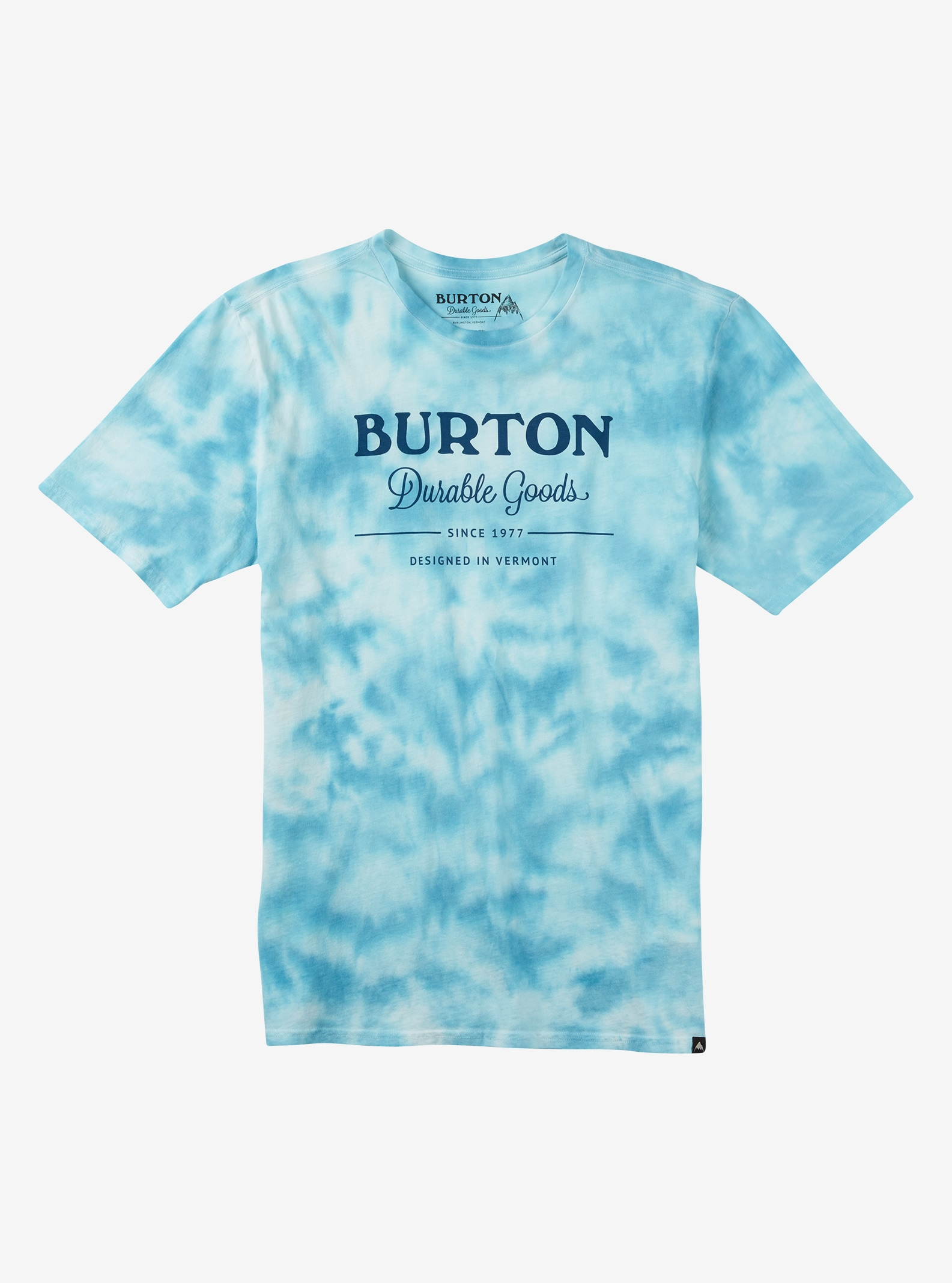 Burton Washed Up Short Sleeve T Shirt shown in Durable Goods Tie Dye