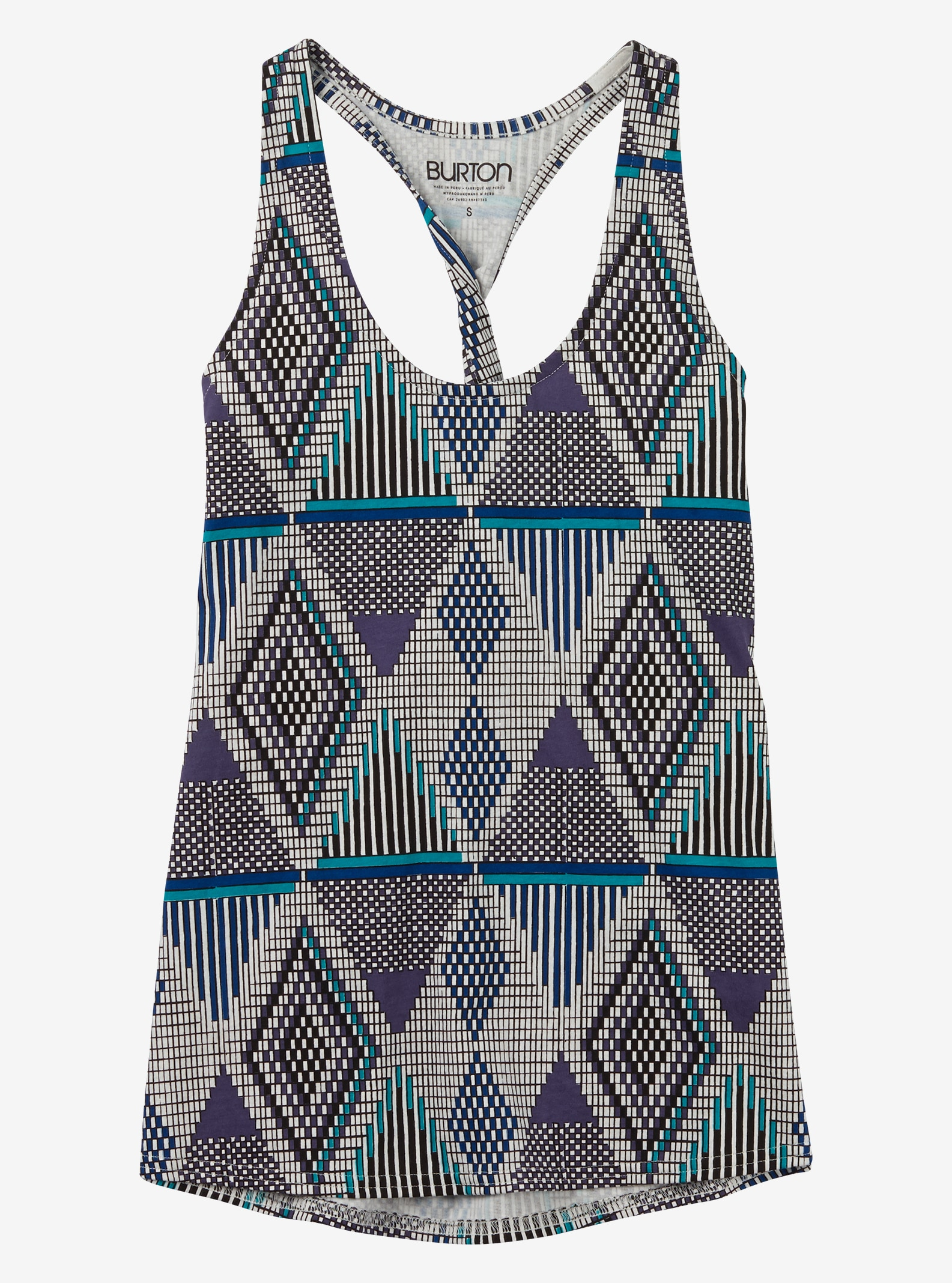 Burton Graceland Tank shown in Mulled Grape De Geo