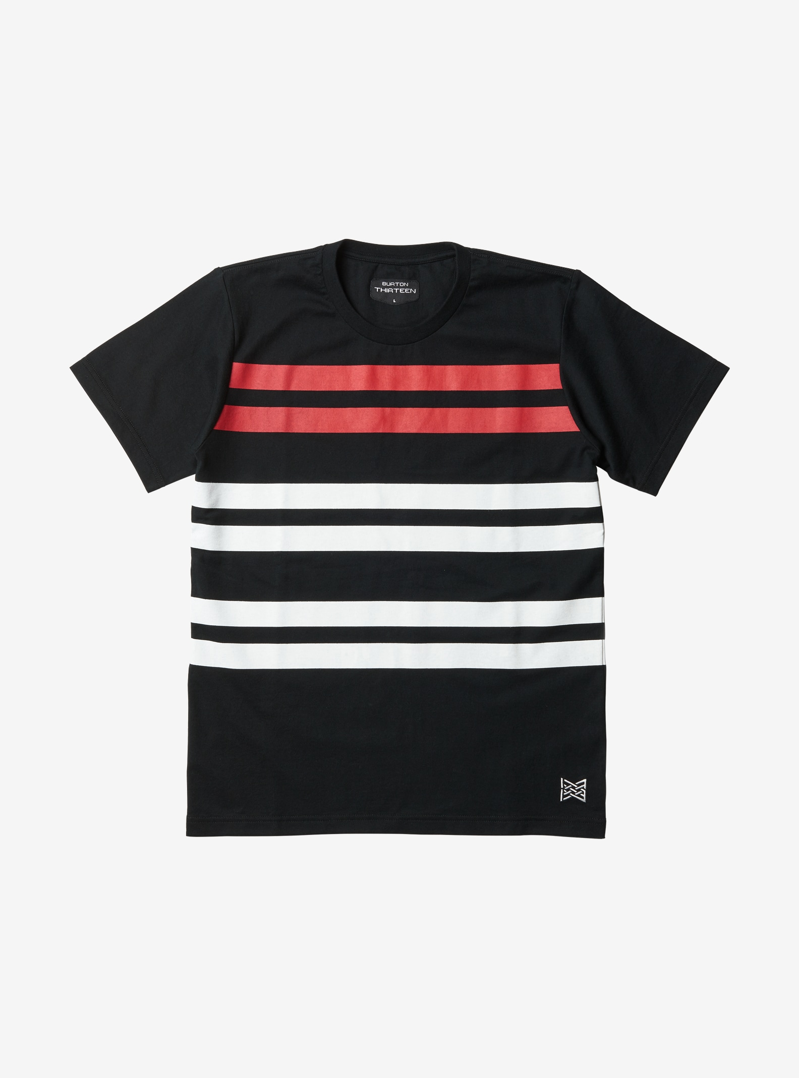Burton THIRTEEN Ceto Short Sleeve T Shirt shown in Black