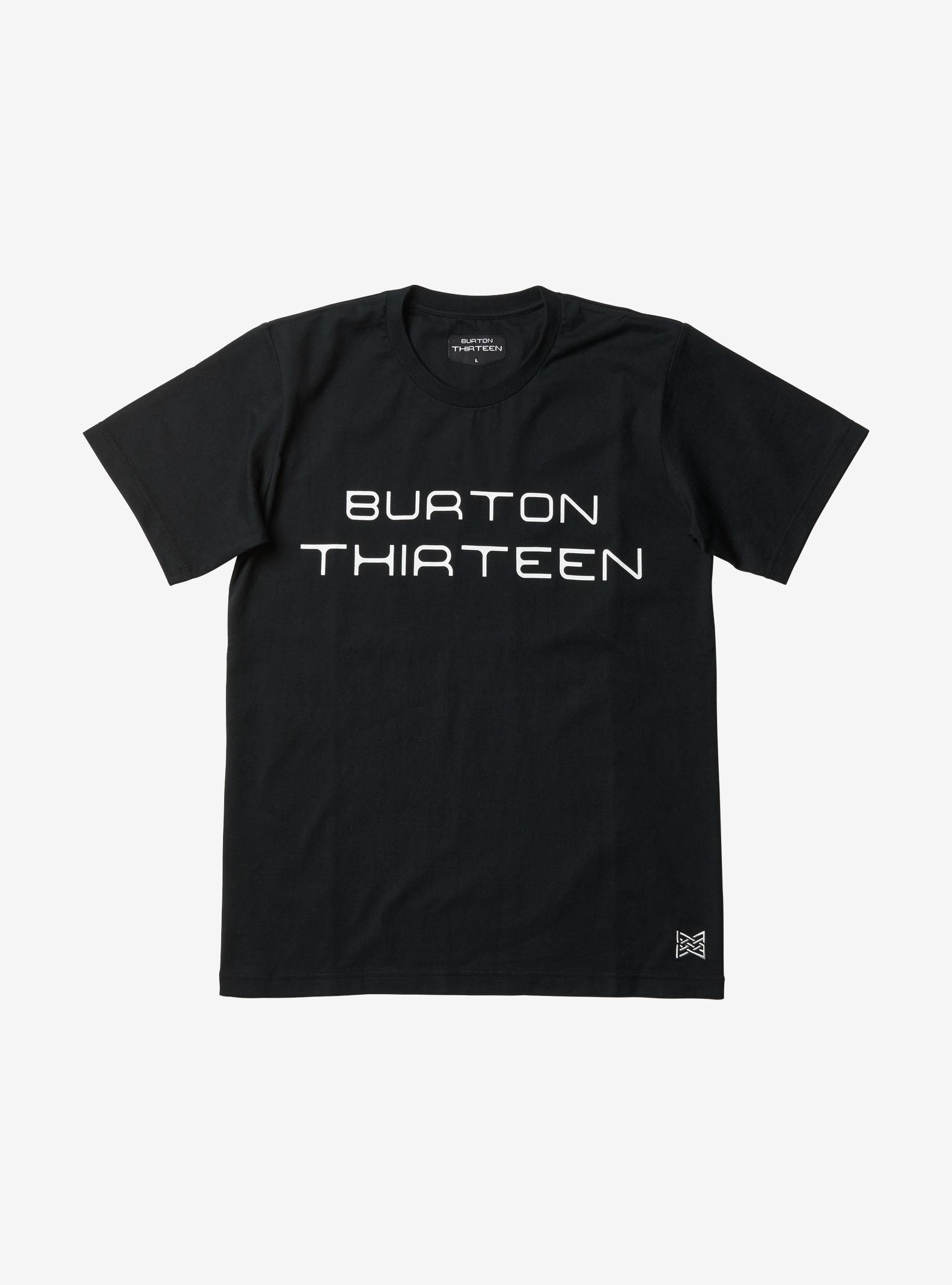 Burton Thirteen Thaumas Short Sleeve T Shirt shown in Black