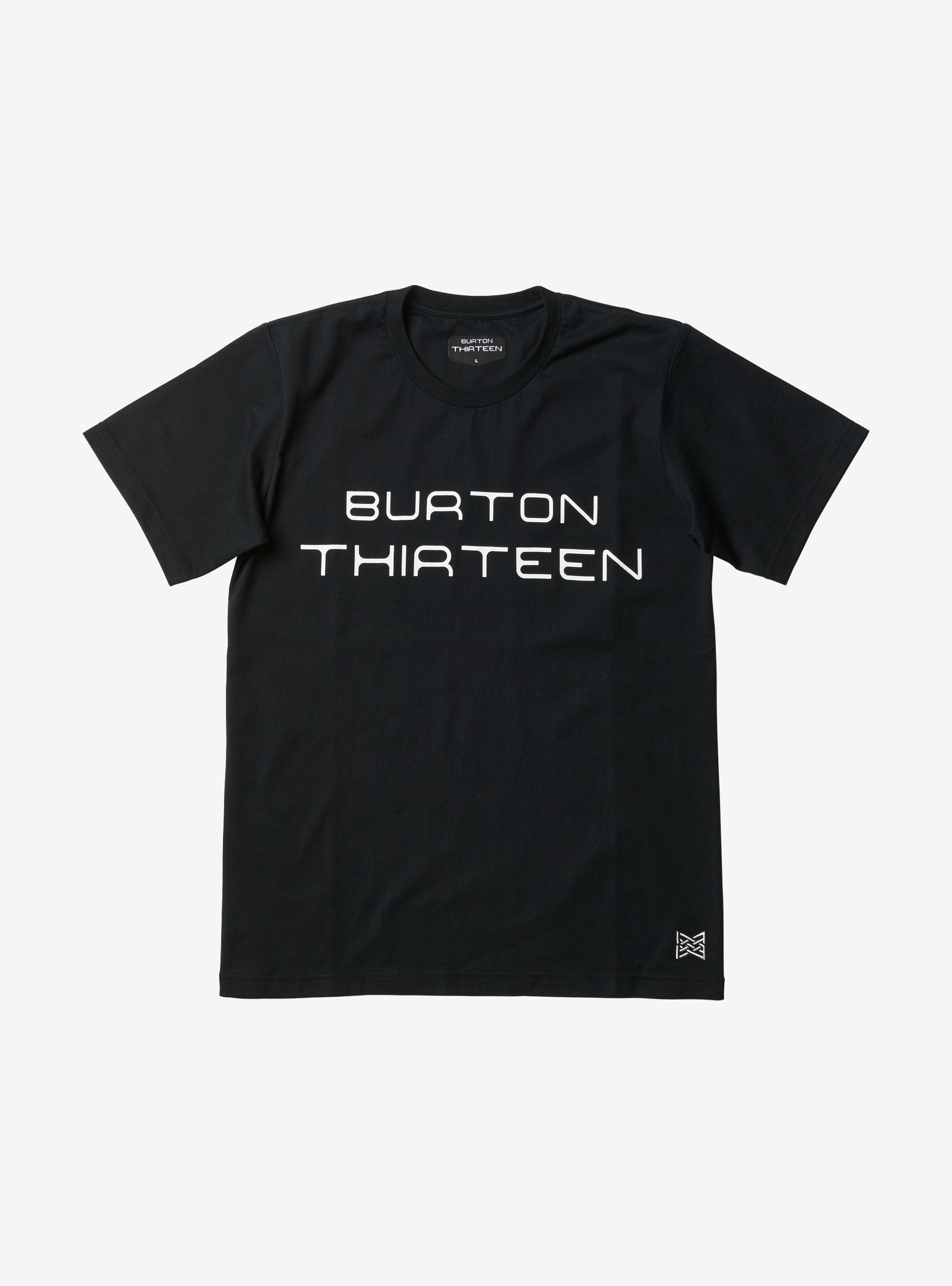 Burton THIRTEEN Thaumas Short Sleeve T Shirt shown in Black