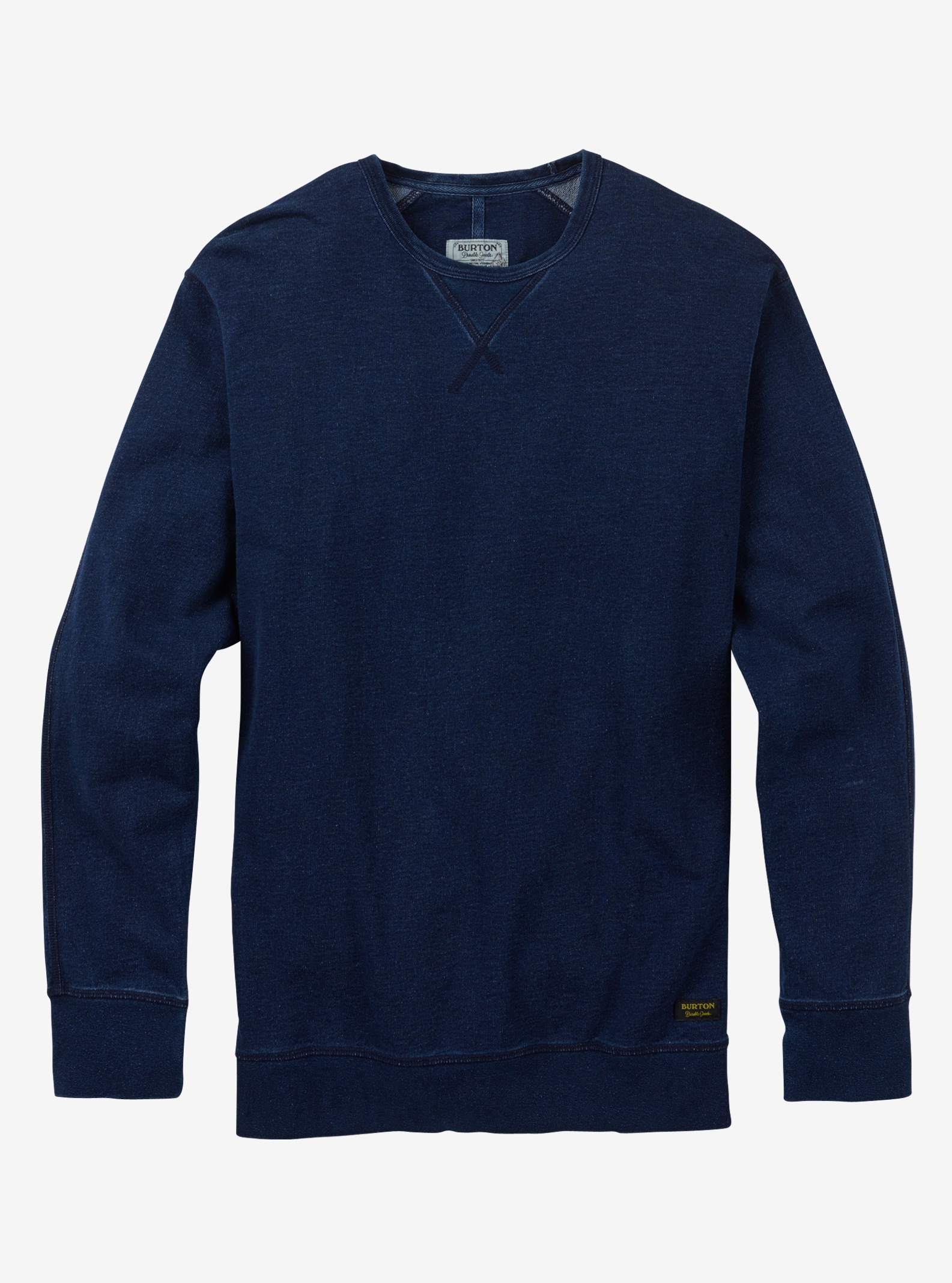 Burton Monhegan Fleece Crew shown in Indigo