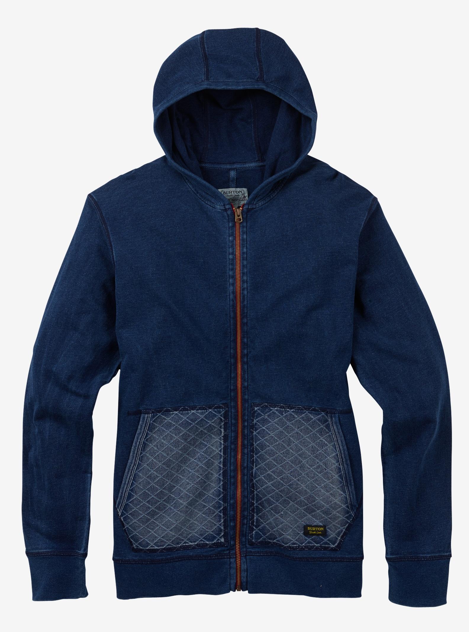 Burton Monhegan Fleece Full-Zip shown in Indigo