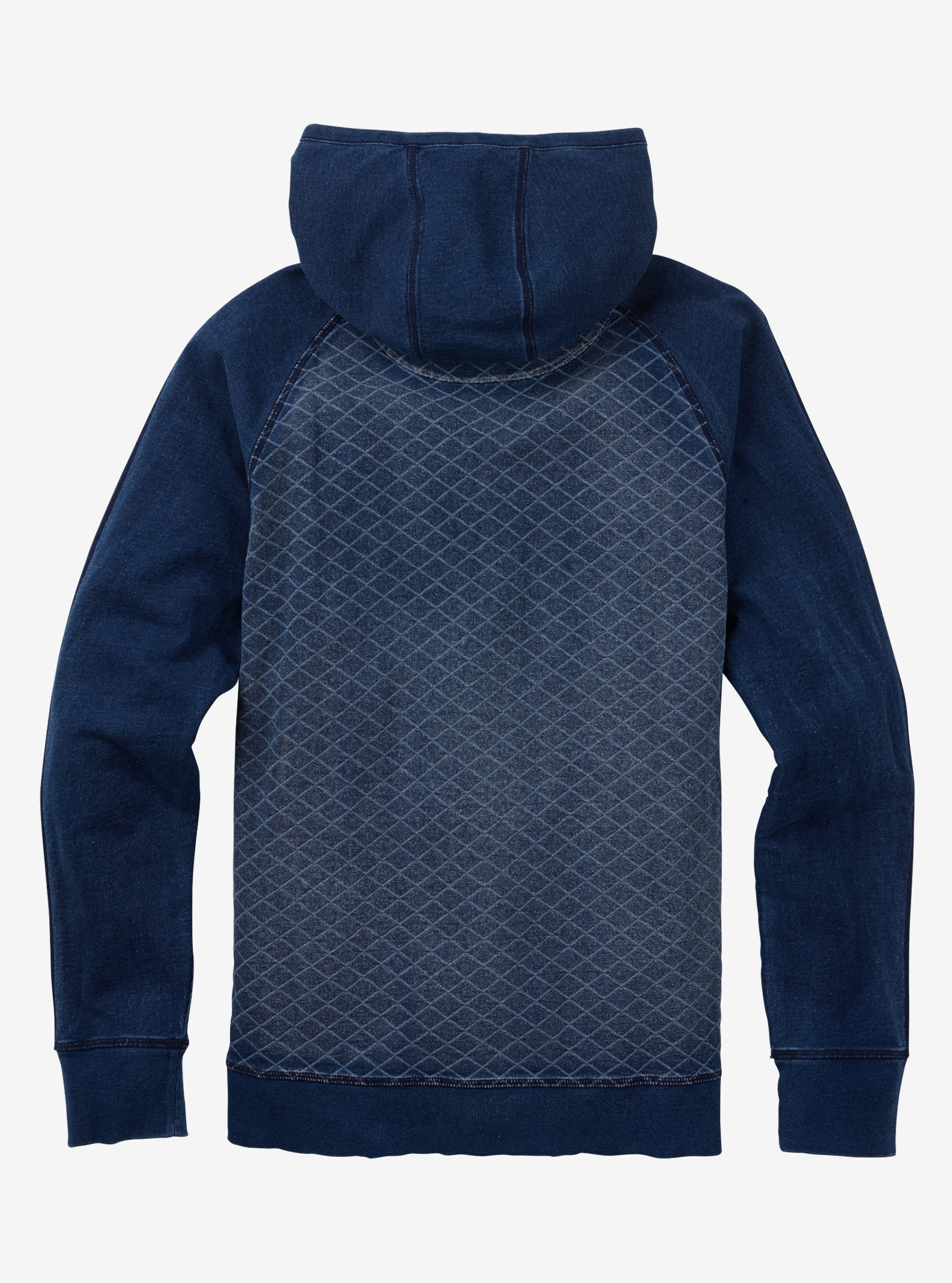 Burton Monhegan Fleece Full-Zip shown in Indigo