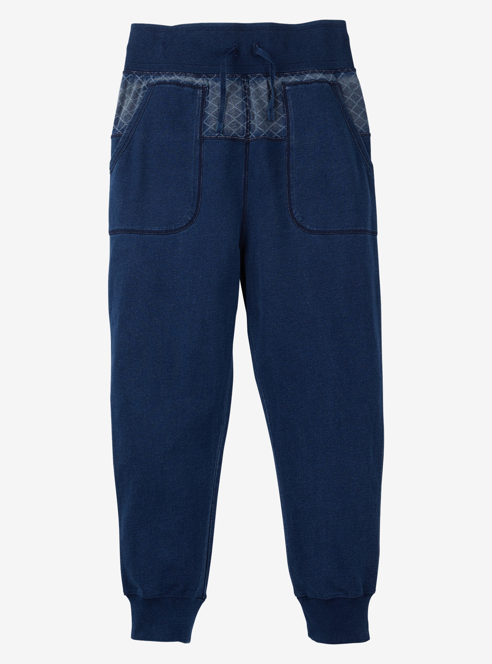 Burton Monhegan Fleece Pant shown in Indigo