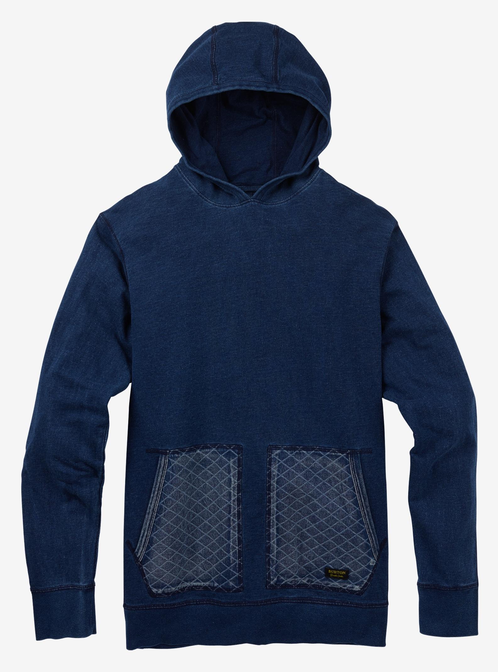 Burton Monhegan Fleece Pullover shown in Indigo