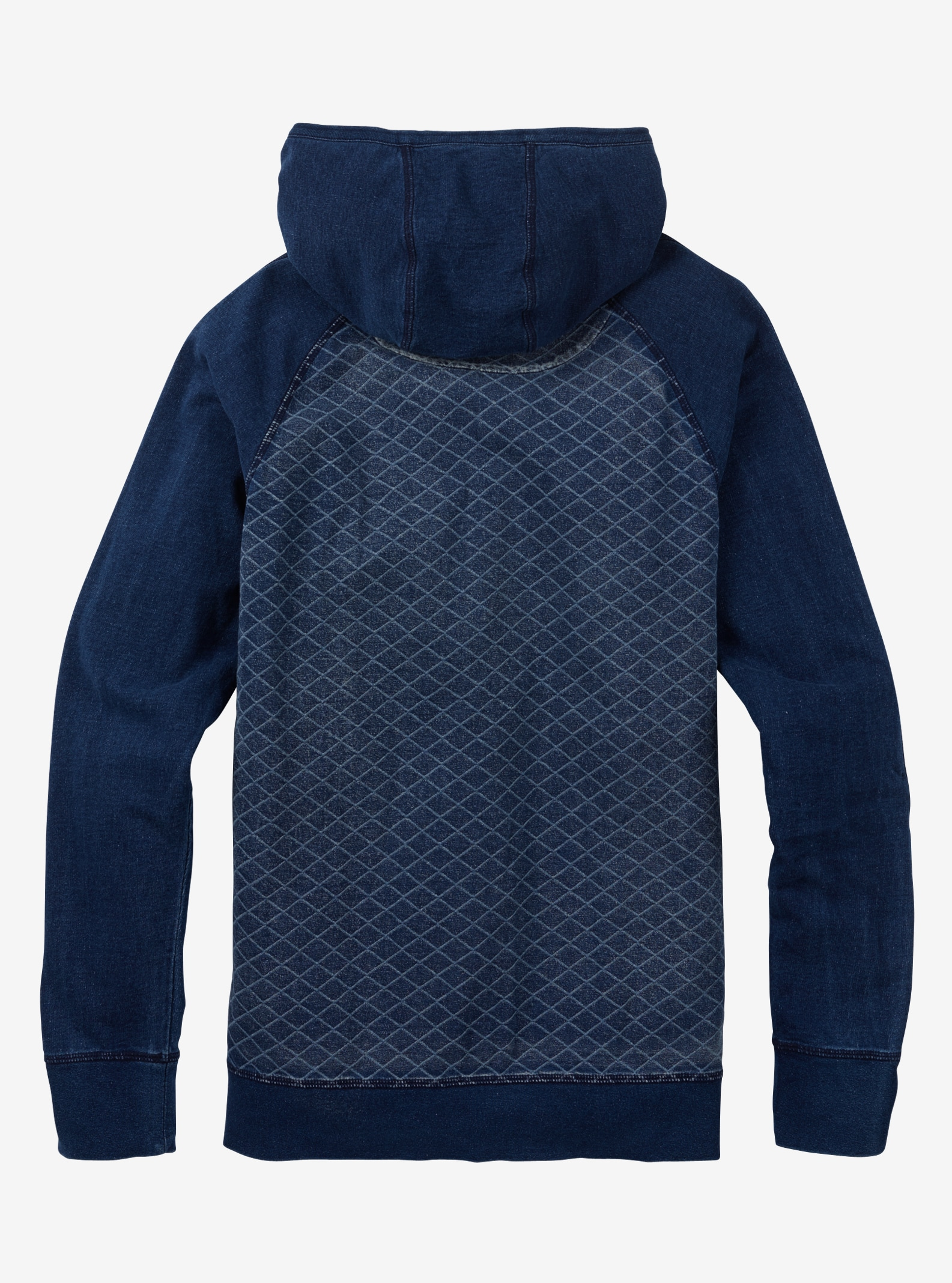 Burton Monhegan Fleece Pullover shown in Indigo