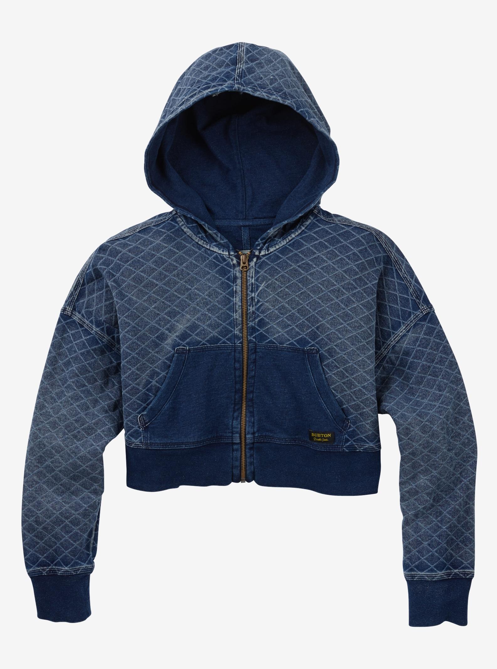 Burton Noonmark Full-Zip Hoodie shown in Indigo