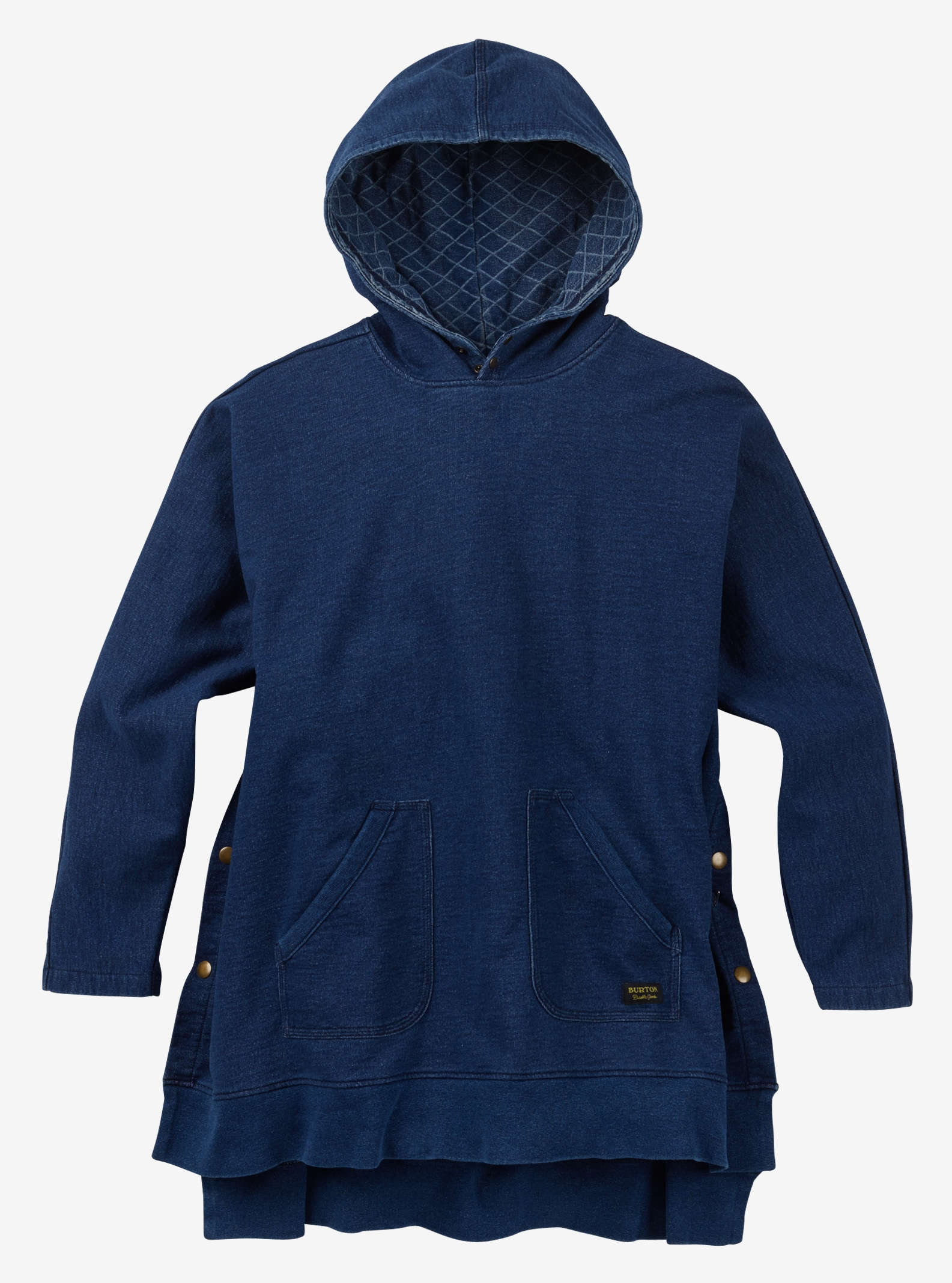 Burton Noonmark Poncho shown in Indigo