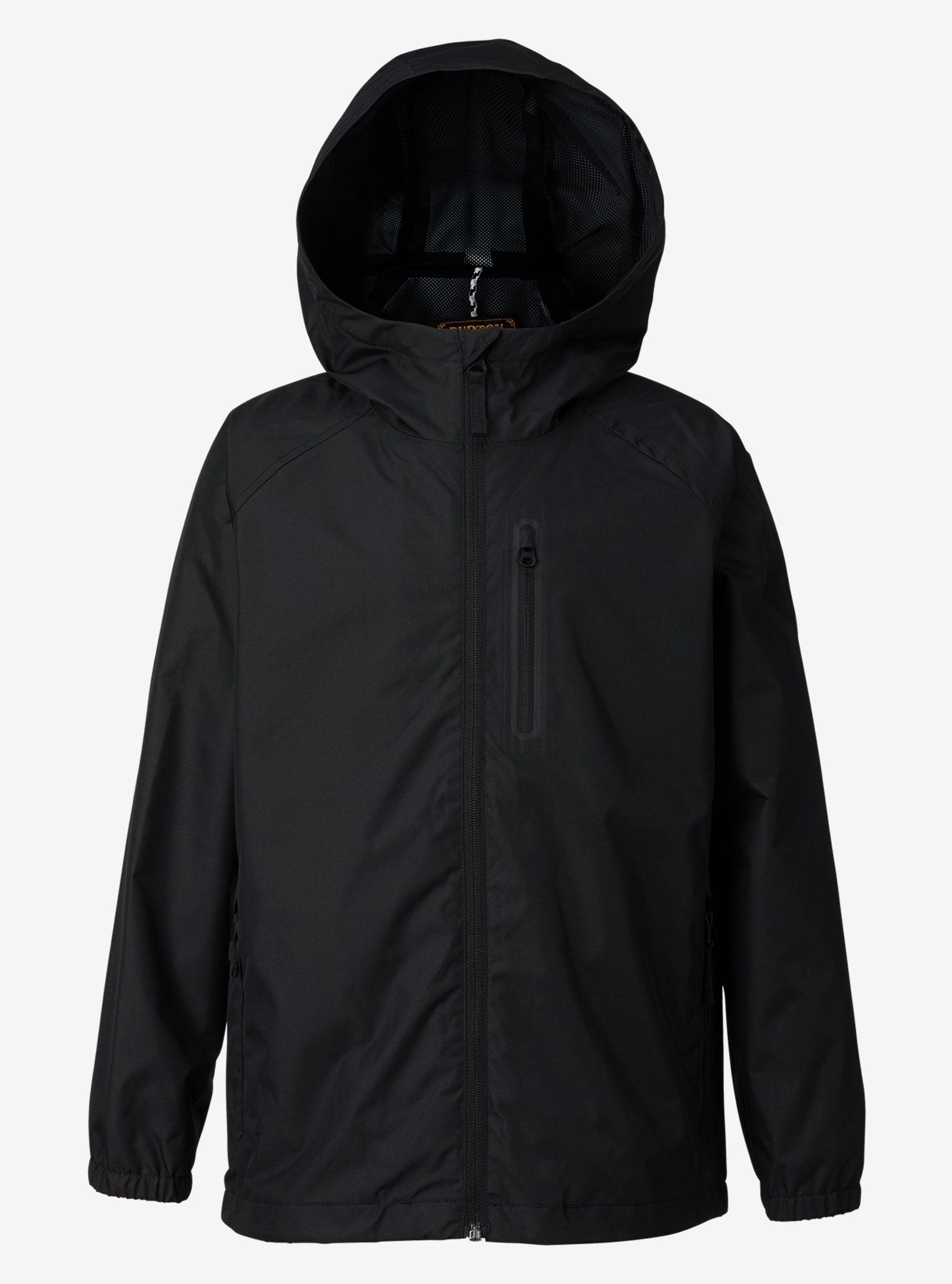 Burton Boys' Portal Rain Jacket shown in True Black