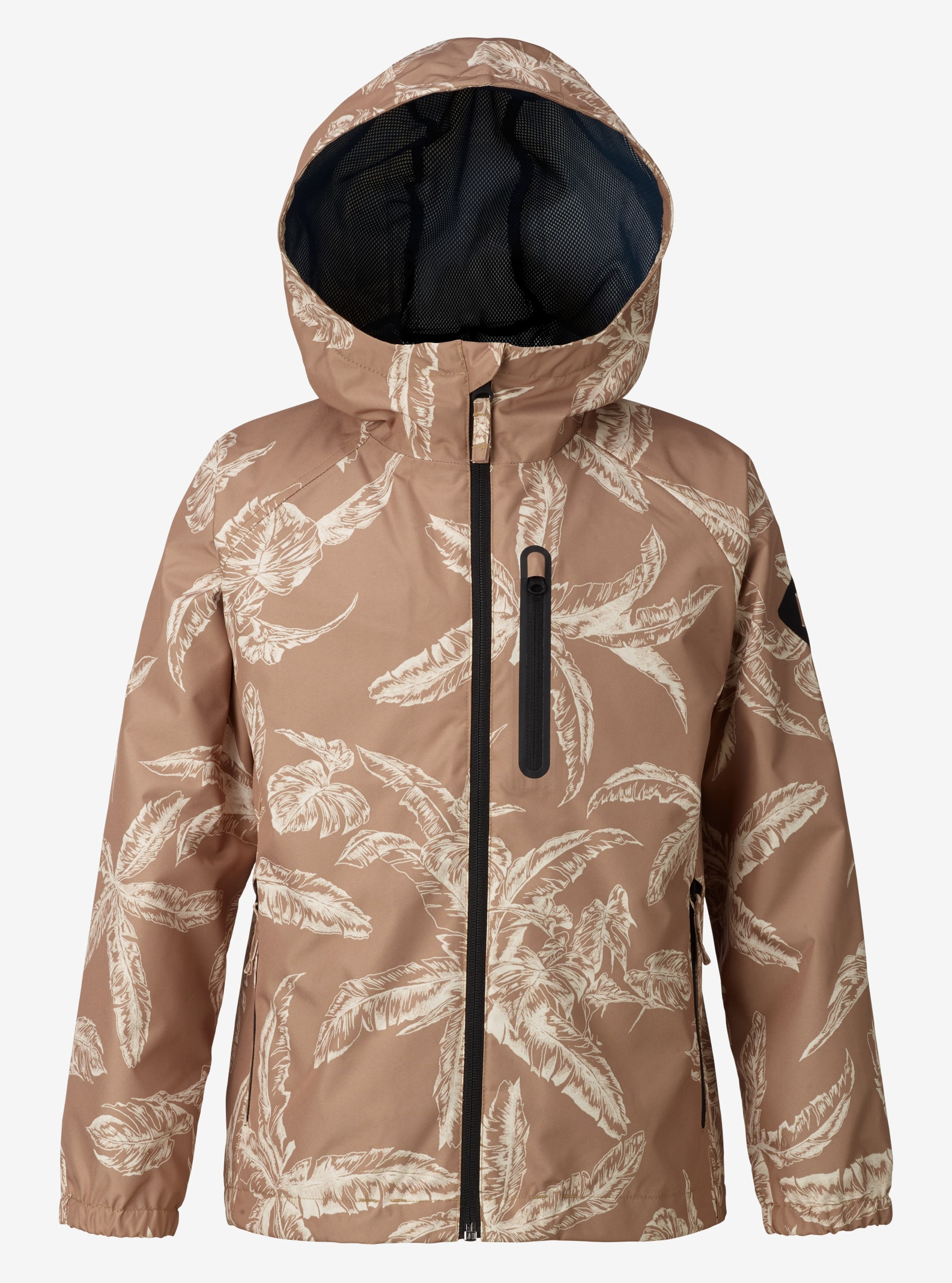 Burton Boys' Portal Rain Jacket shown in Kelp Tropical
