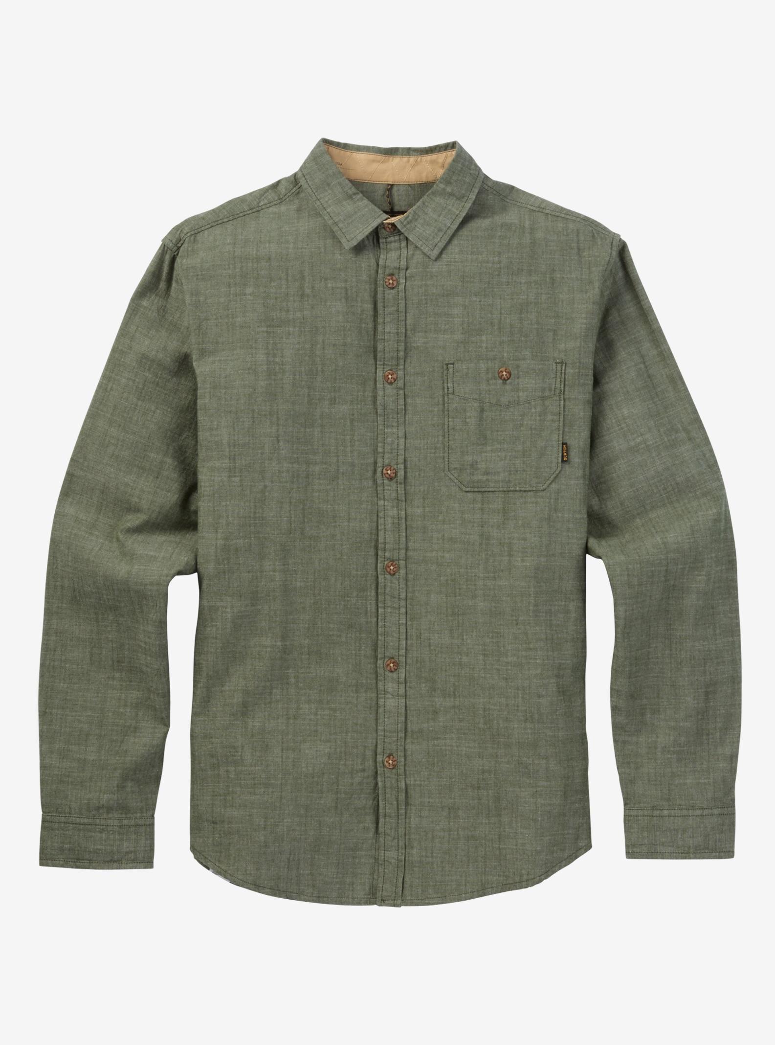 Burton Slayton Long Sleeve Shirt shown in Rifle Green