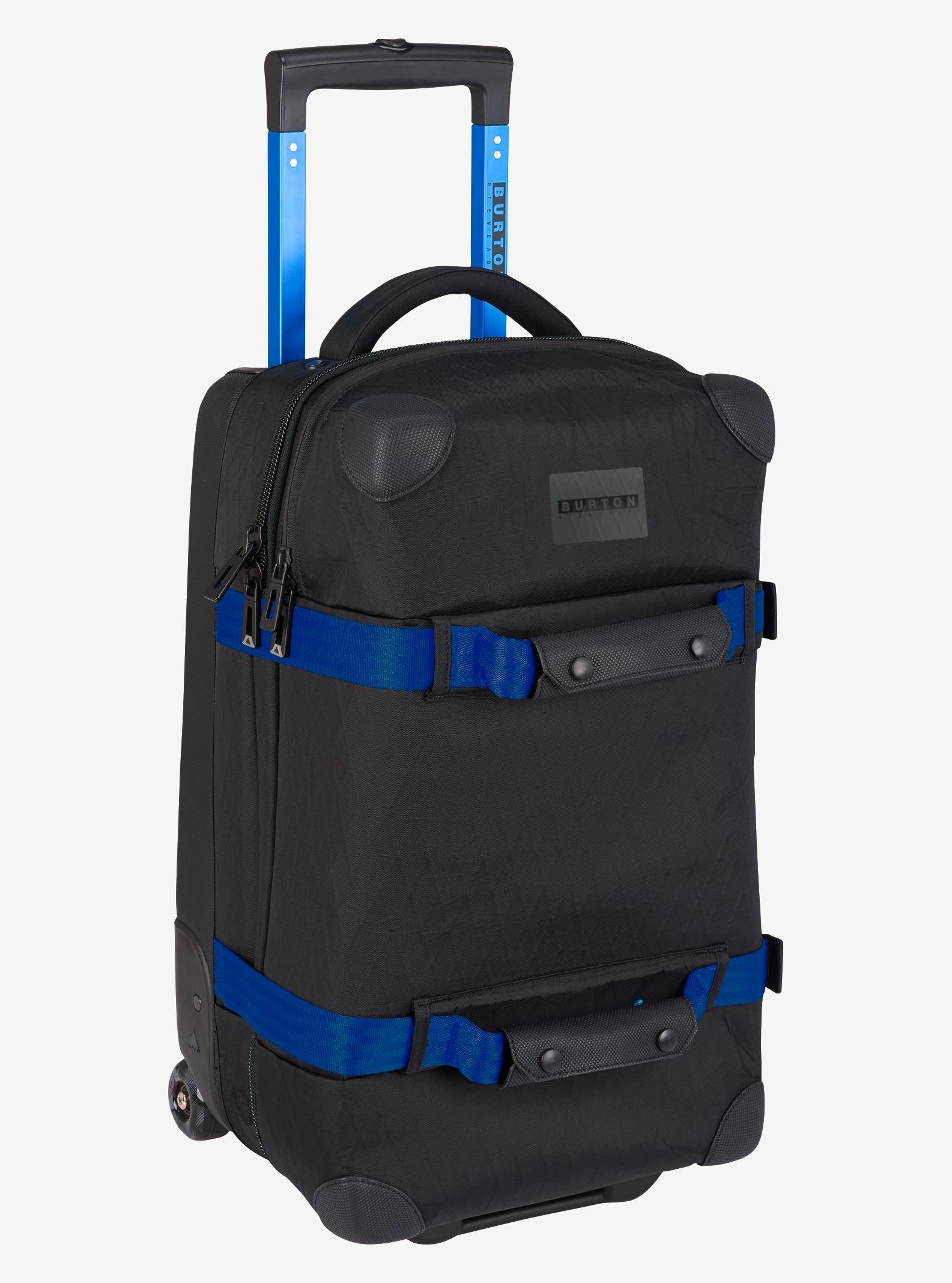 Burton x Aoki Wheelie Flight Deck Travel Bag shown in Aoki Black