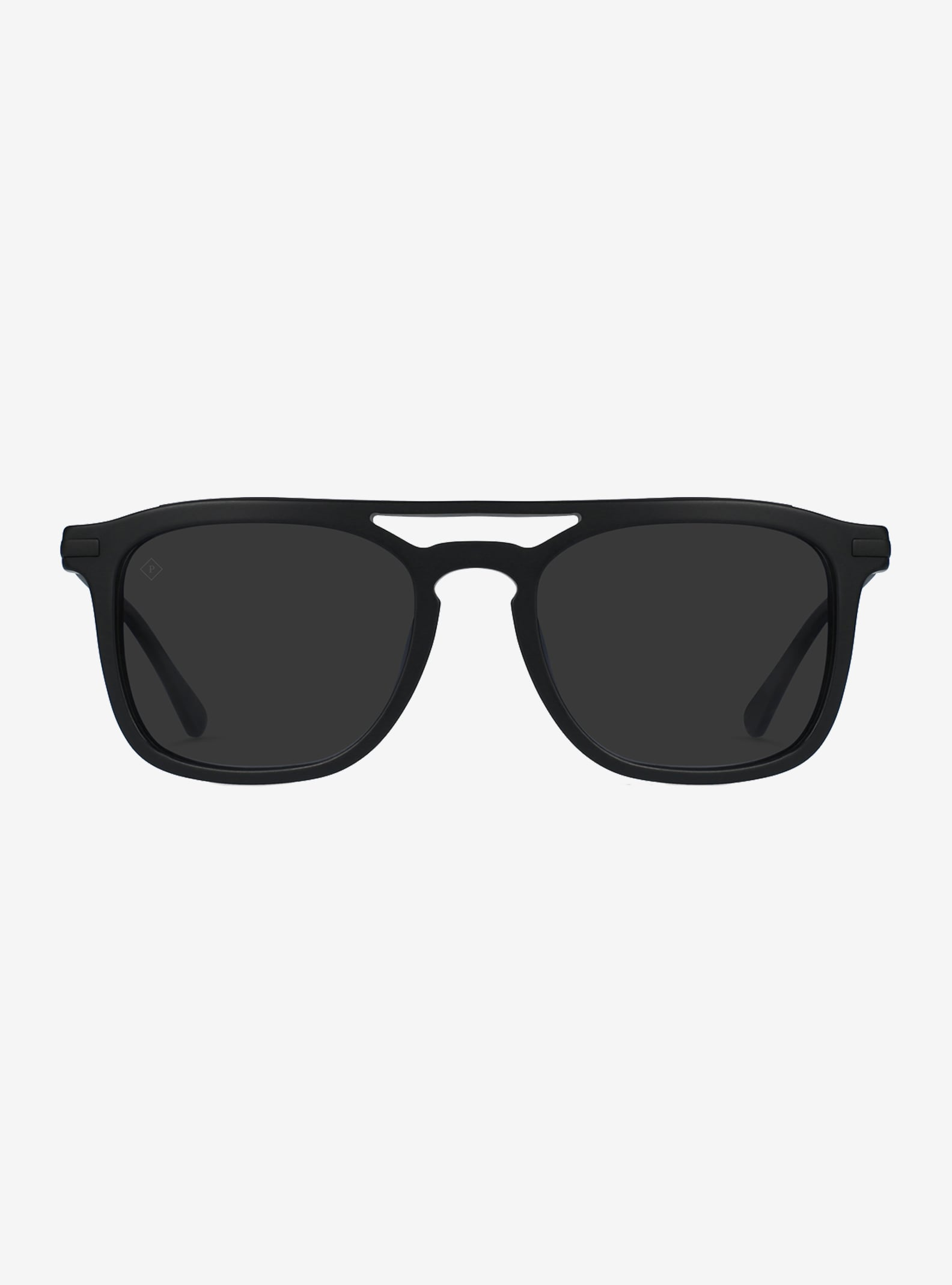 RAEN Kettner Sunglasses shown in Matte Black/ Brindle (Black Polarized)