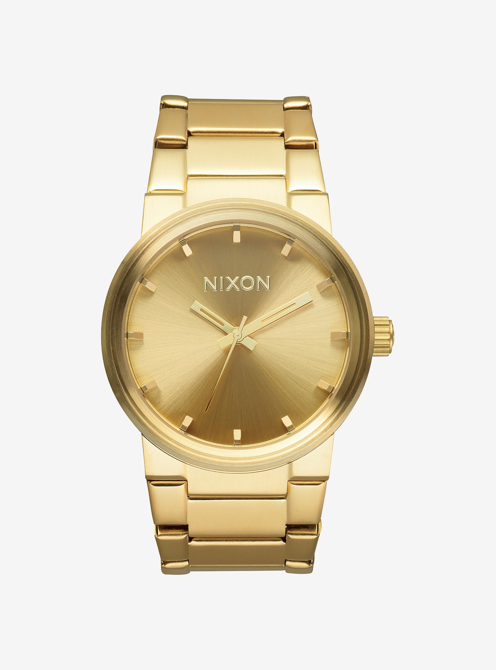 Nixon Cannon Watch shown in Gold