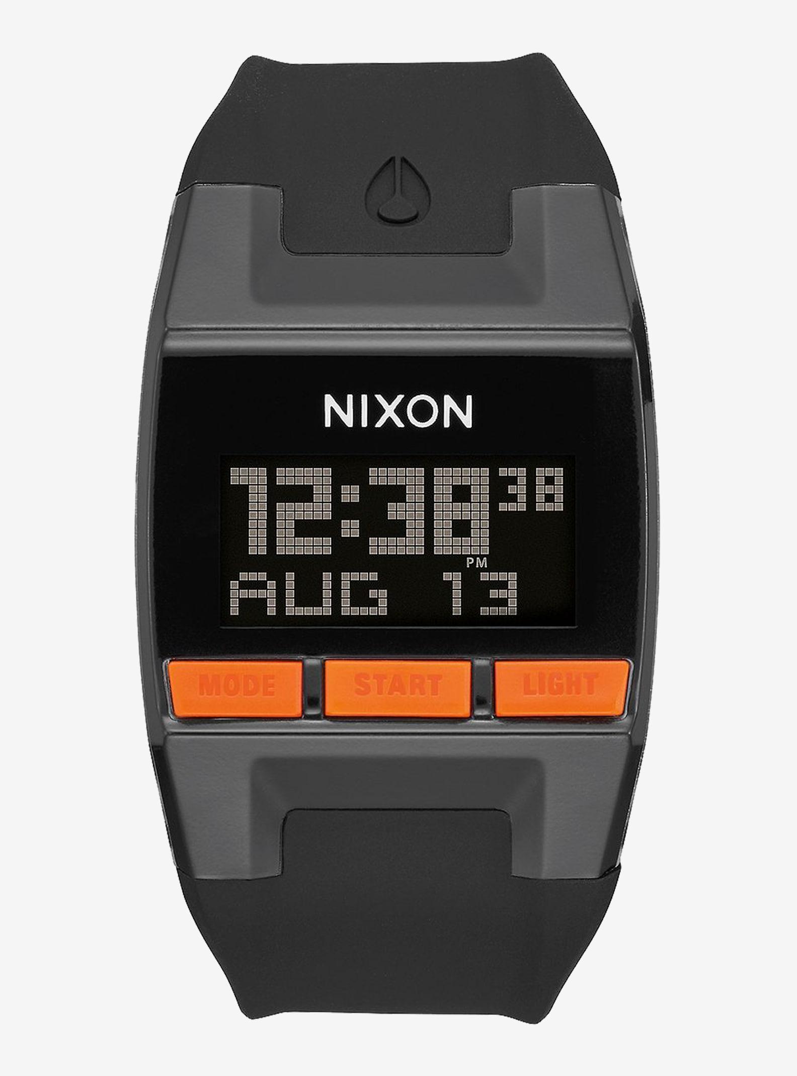 Nixon Comp Watch shown in Black / Orange JJF